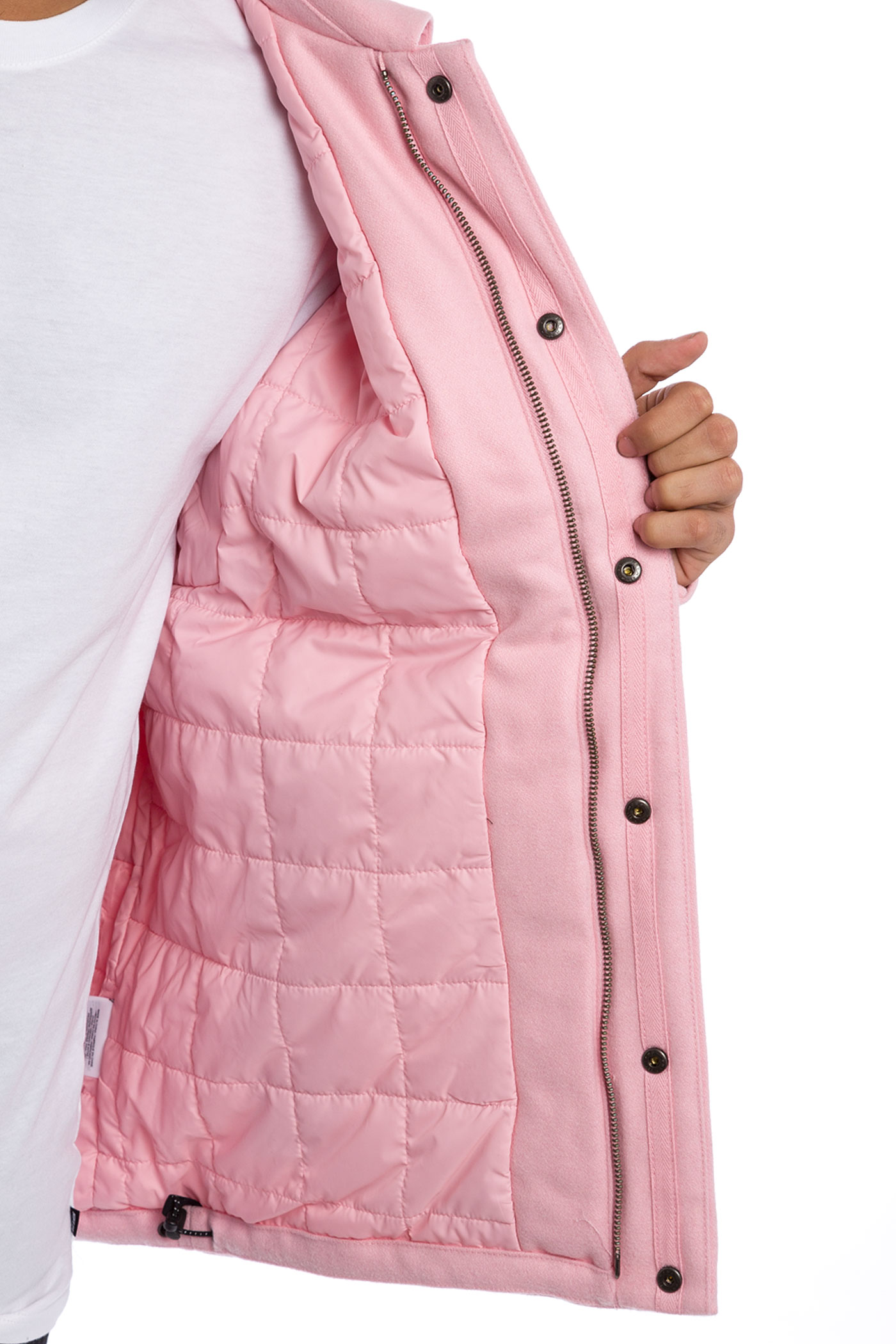 nike coat pink