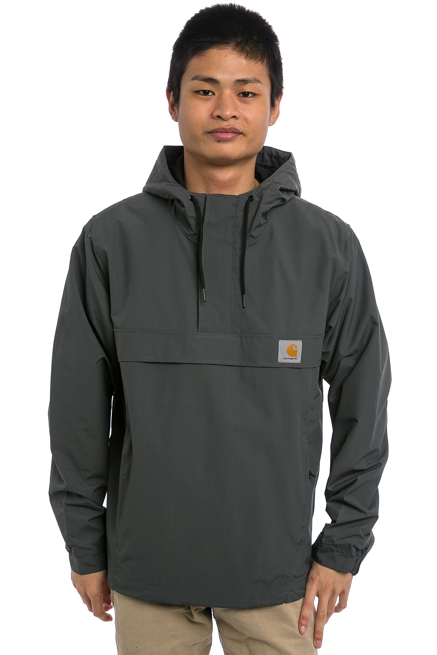 carhartt wip nimbus pullover jacket blacksmith buy at skatedeluxe. Black Bedroom Furniture Sets. Home Design Ideas