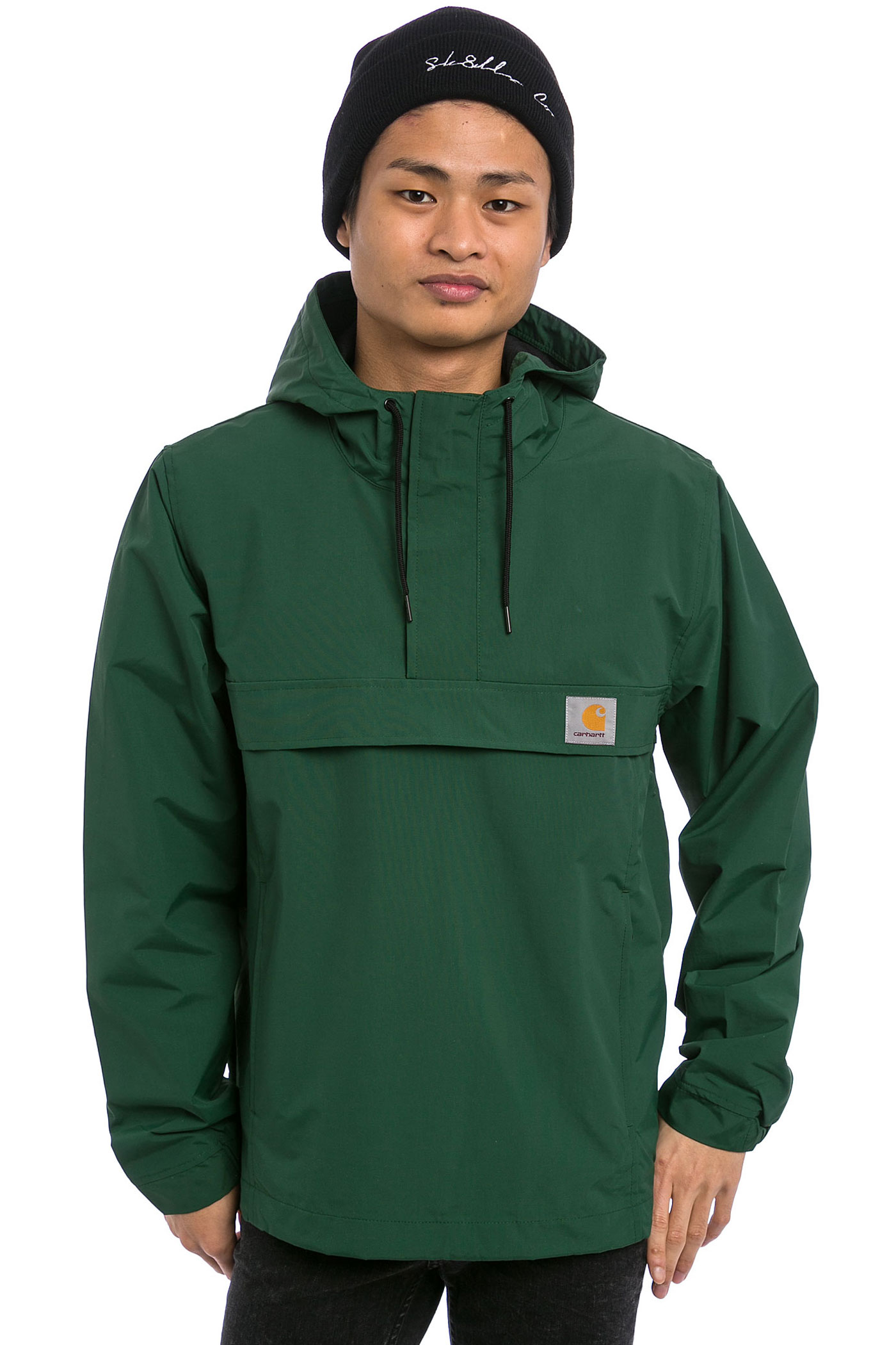 carhartt wip nimbus pullover jacket fir buy at skatedeluxe. Black Bedroom Furniture Sets. Home Design Ideas