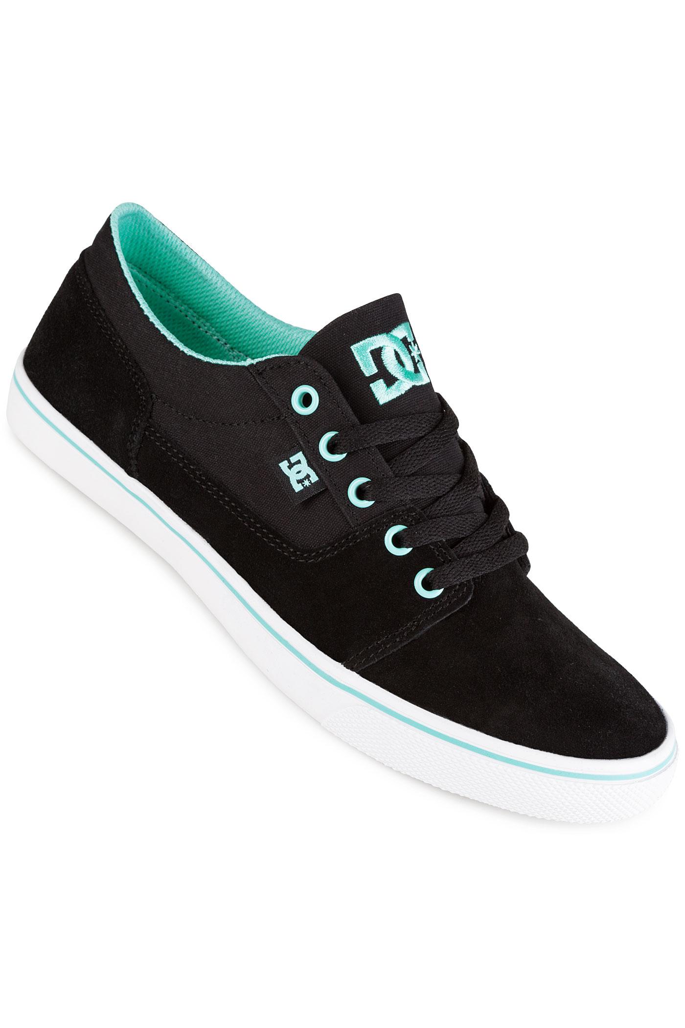 Dc Tonik Shoes Women Black Aqua