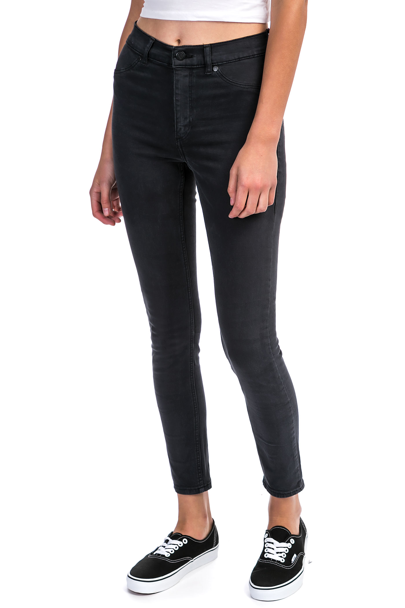 Cheap Monday High Spray Jeans women (crow) buy at skatedeluxe