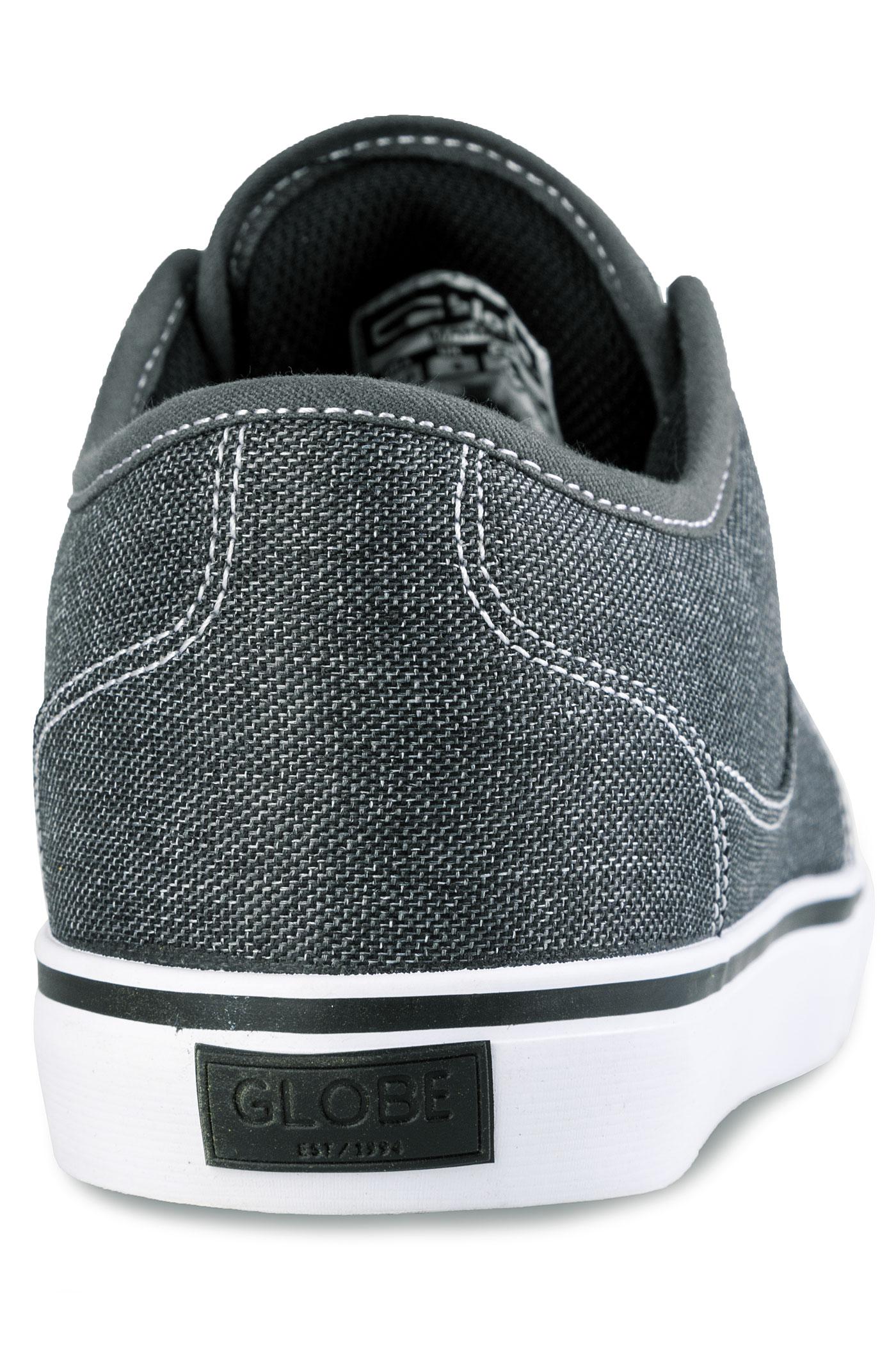 globe mahalo chaussure black chambray achetez sur skatedeluxe. Black Bedroom Furniture Sets. Home Design Ideas