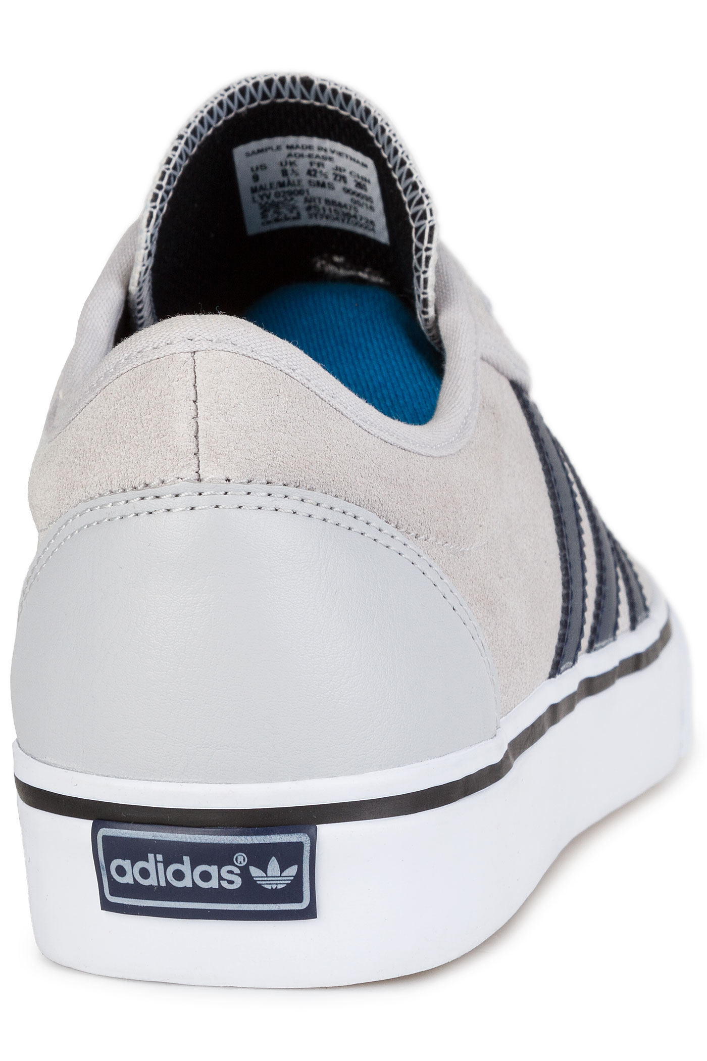 new arrival 9888f cd835 adidas Adi Ease Shoe (light solid grey collegiate navy)