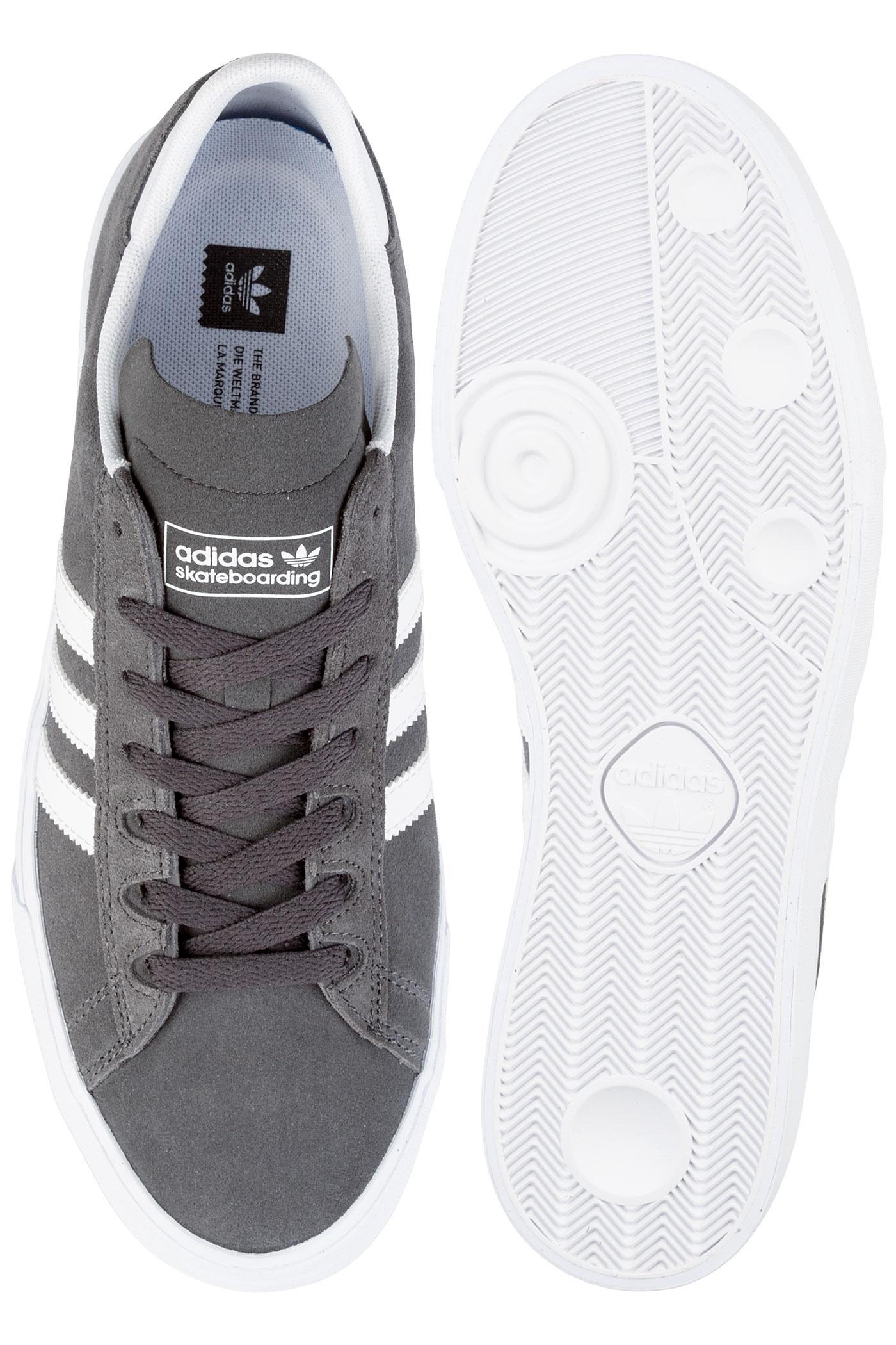 uk availability 0c42a 785fb adidas Campus Vulc II ADV Shoe (grey white)