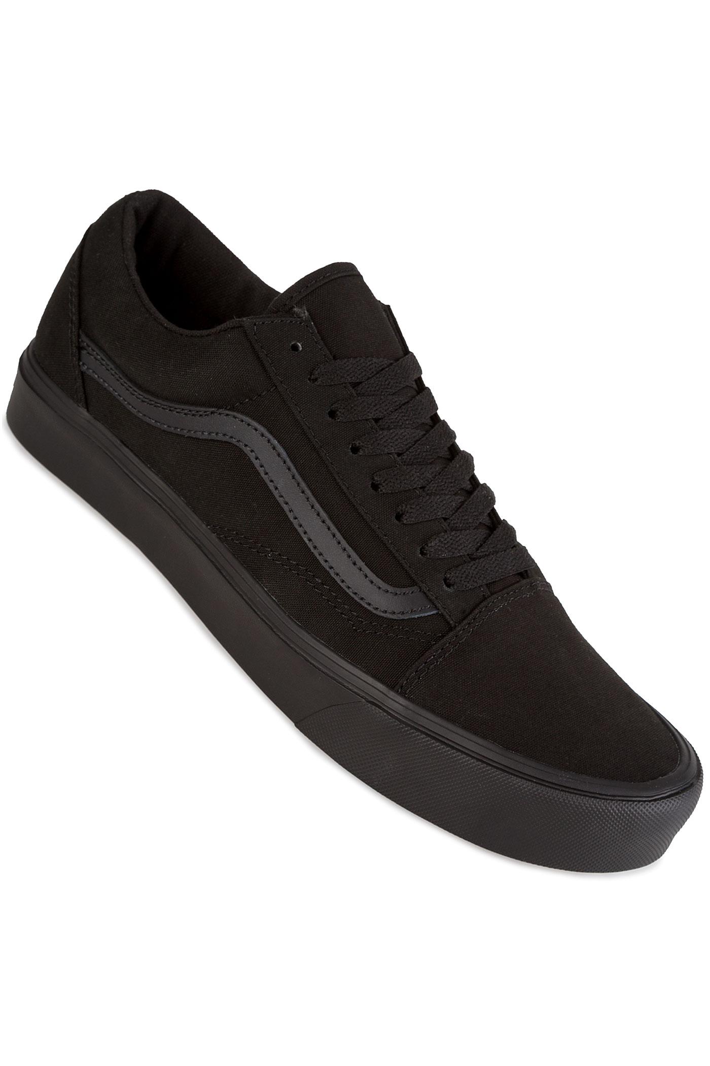 vans old skool lite canvas chaussure black black achetez. Black Bedroom Furniture Sets. Home Design Ideas