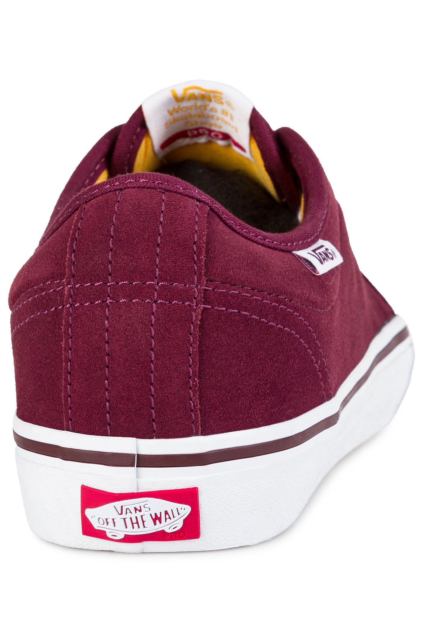 Vans Chukka Low Pro Shoes Port White