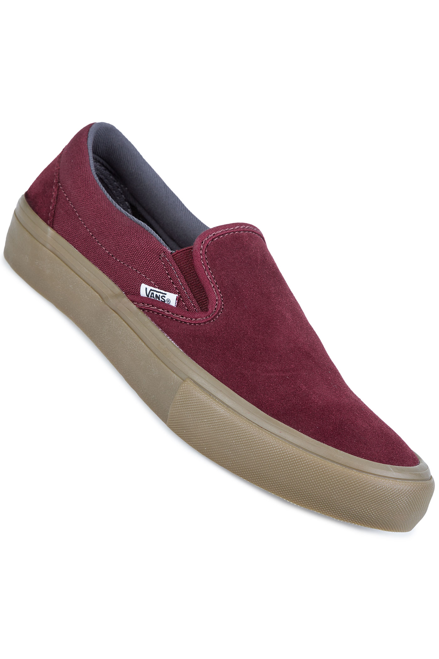 vans slip on pro chaussure port royal gum achetez sur skatedeluxe. Black Bedroom Furniture Sets. Home Design Ideas