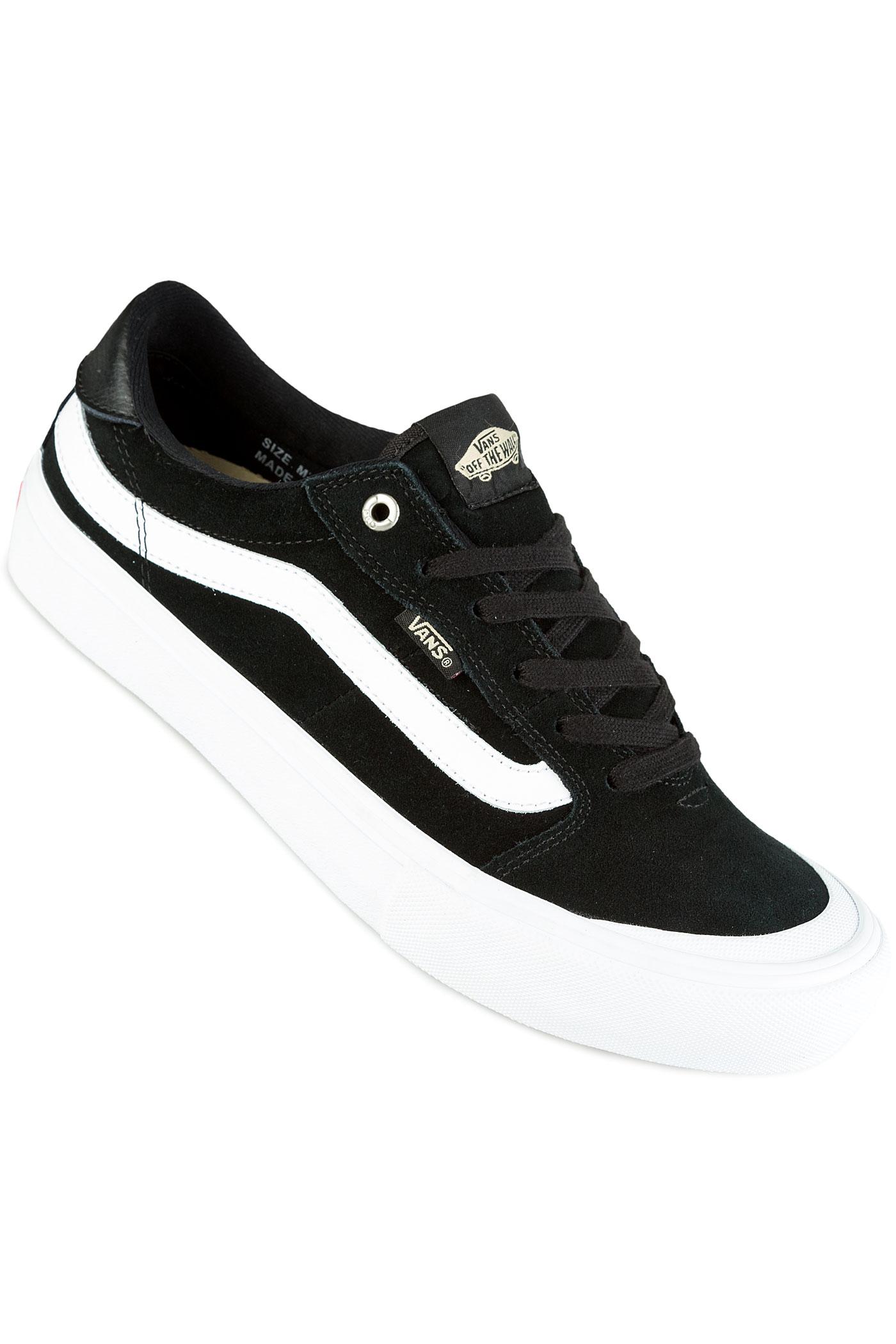 vans 112. vans style 112 pro shoes (black black white)