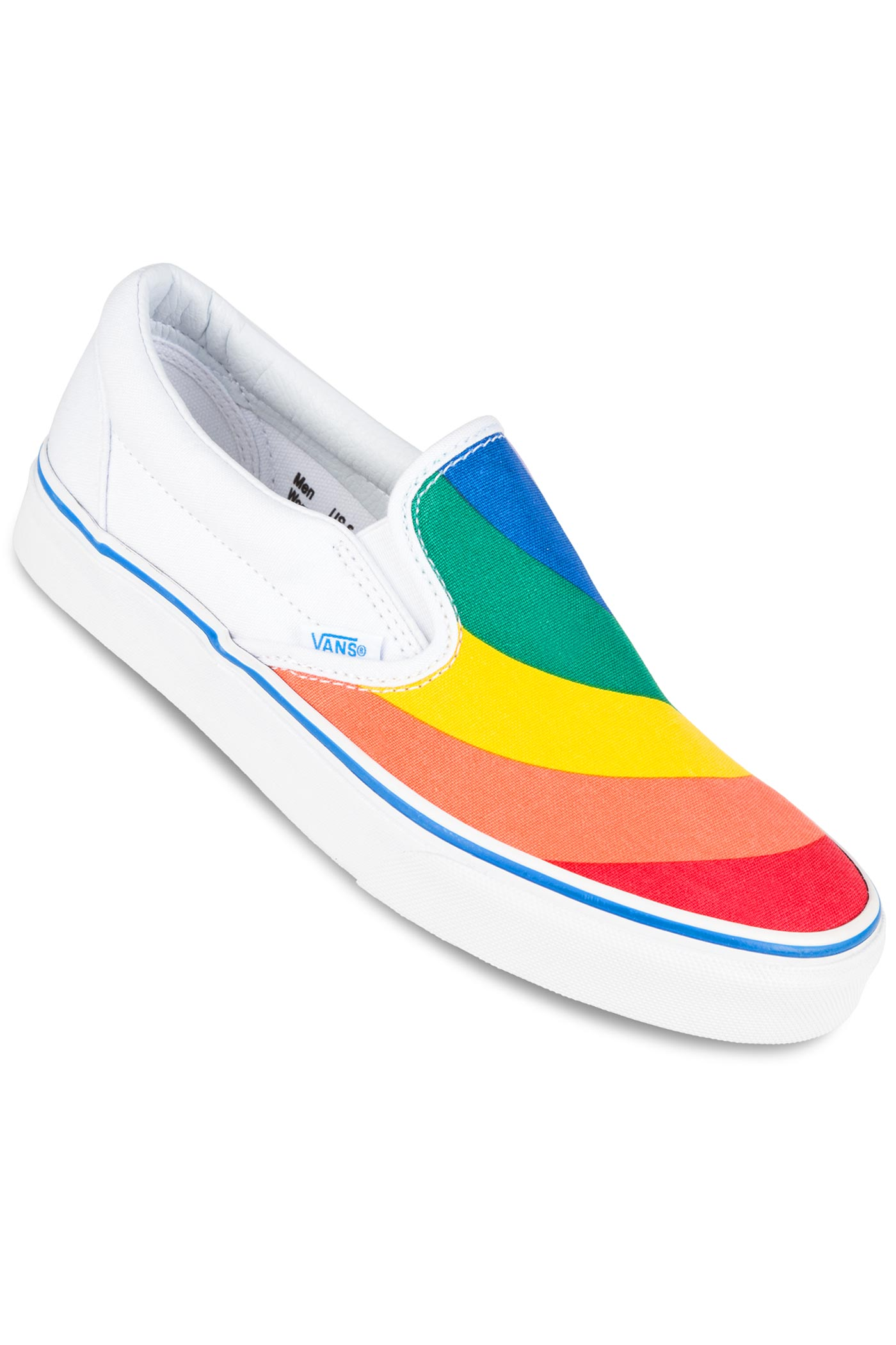 Vans Classic Slip-On Shoe women (rainbow true white) buy at skatedeluxe 7969c8ac5