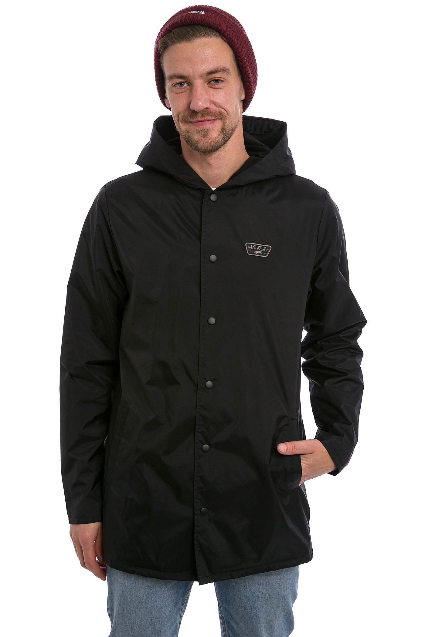 Vans Turnstall Parka Jacket (black) buy at skatedeluxe