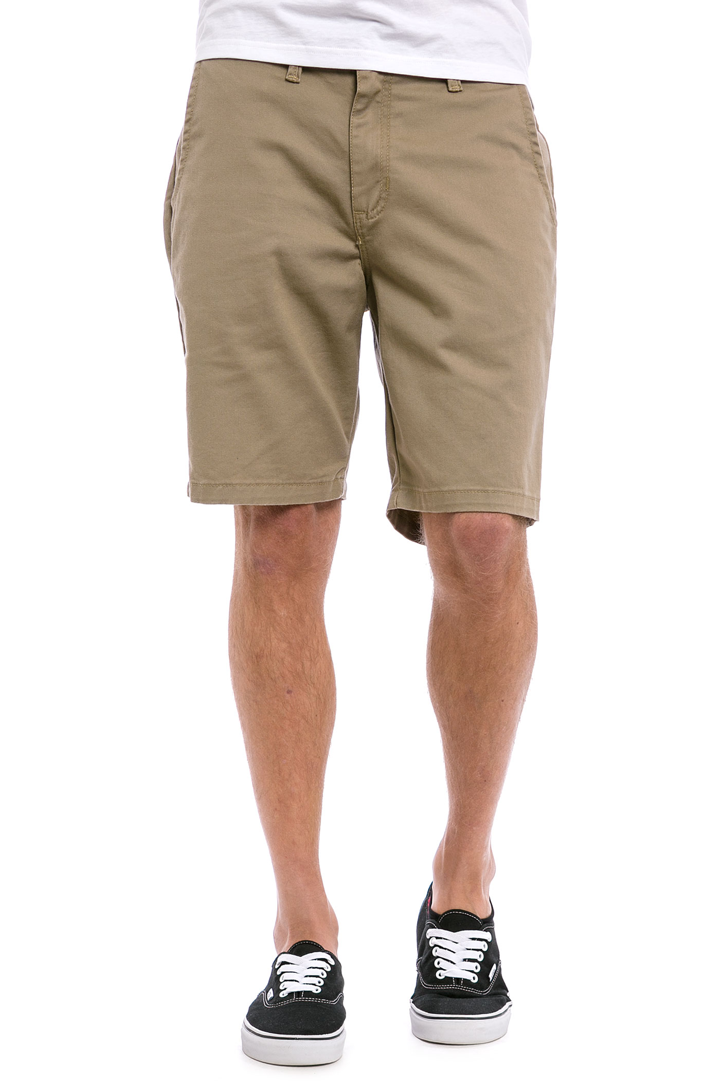 vans authentic with shorts