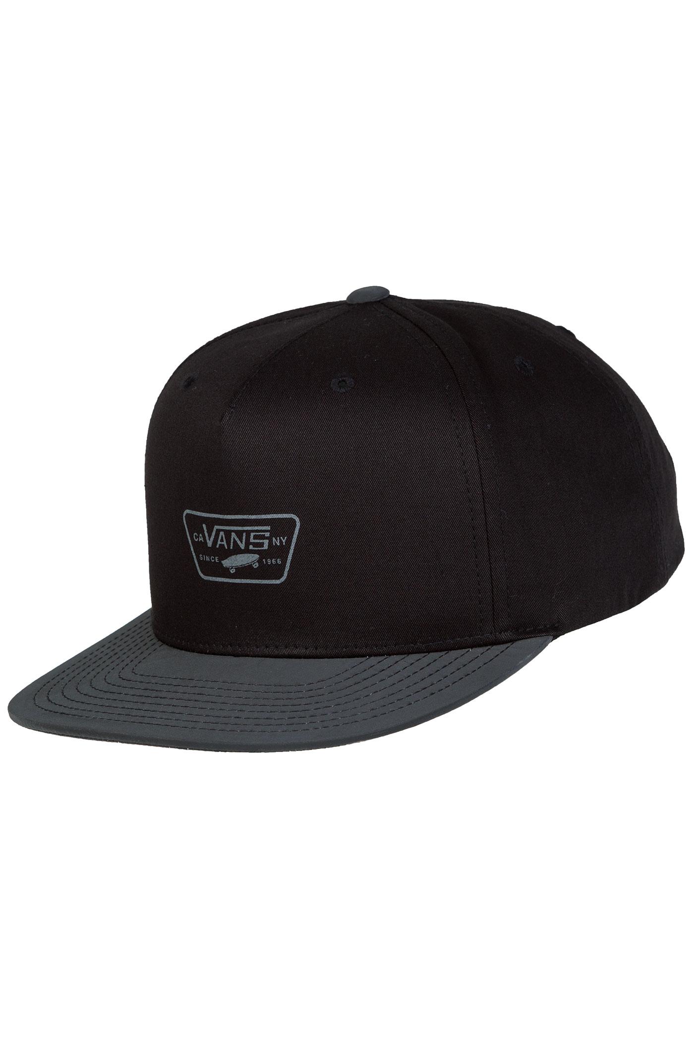 33c38cdd29 Vans Reflect Snapback Cap (black) buy at skatedeluxe