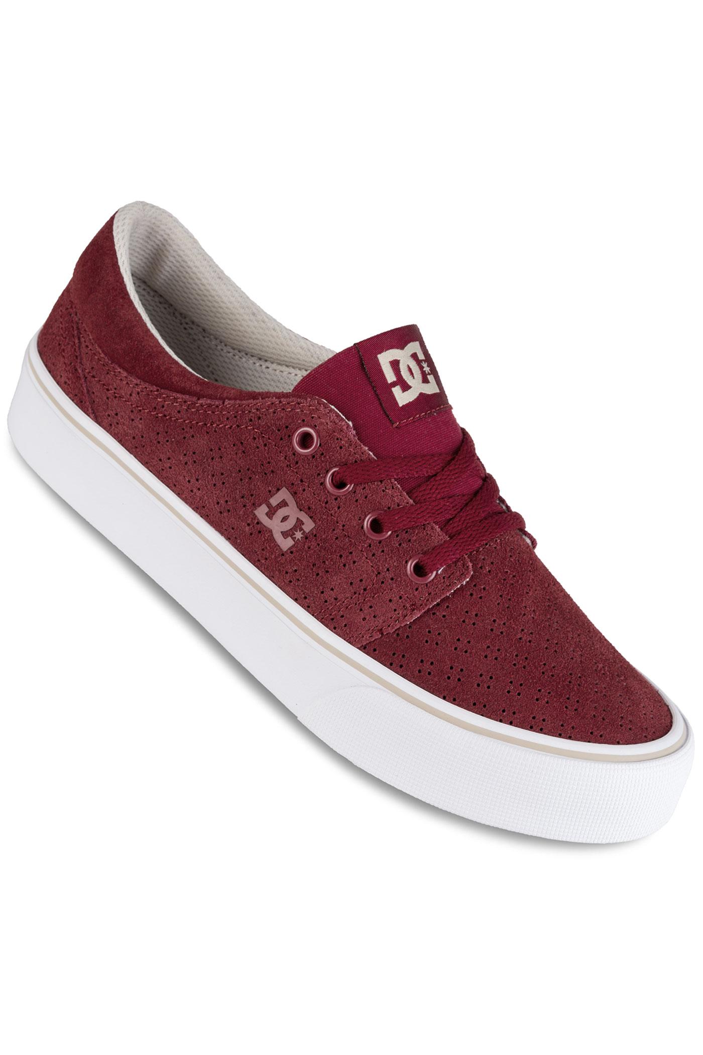 Dc Trase Se Shoes Women Burdy Tan