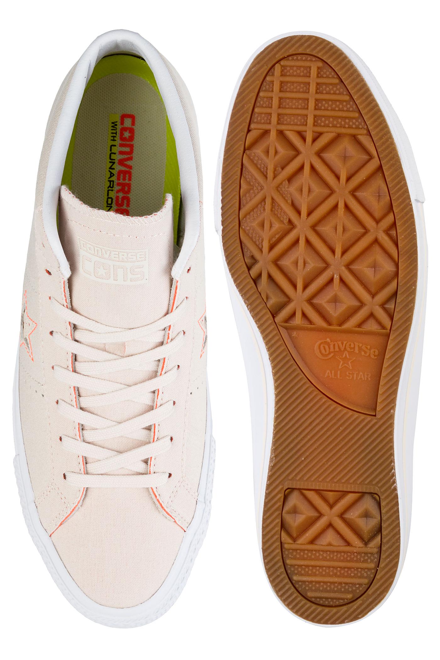 793c46221b5 ... Converse One Star Pro Mid Chaussure (natural hyper orange white) ...
