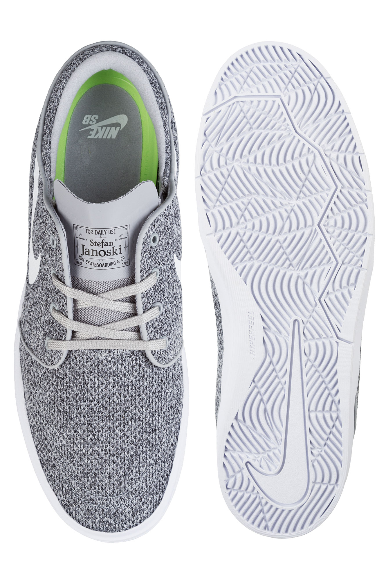 low priced 0108d 669d3 ... Nike SB Stefan Janoski Hyperfeel Mesh Chaussure (wolf grey white) ...