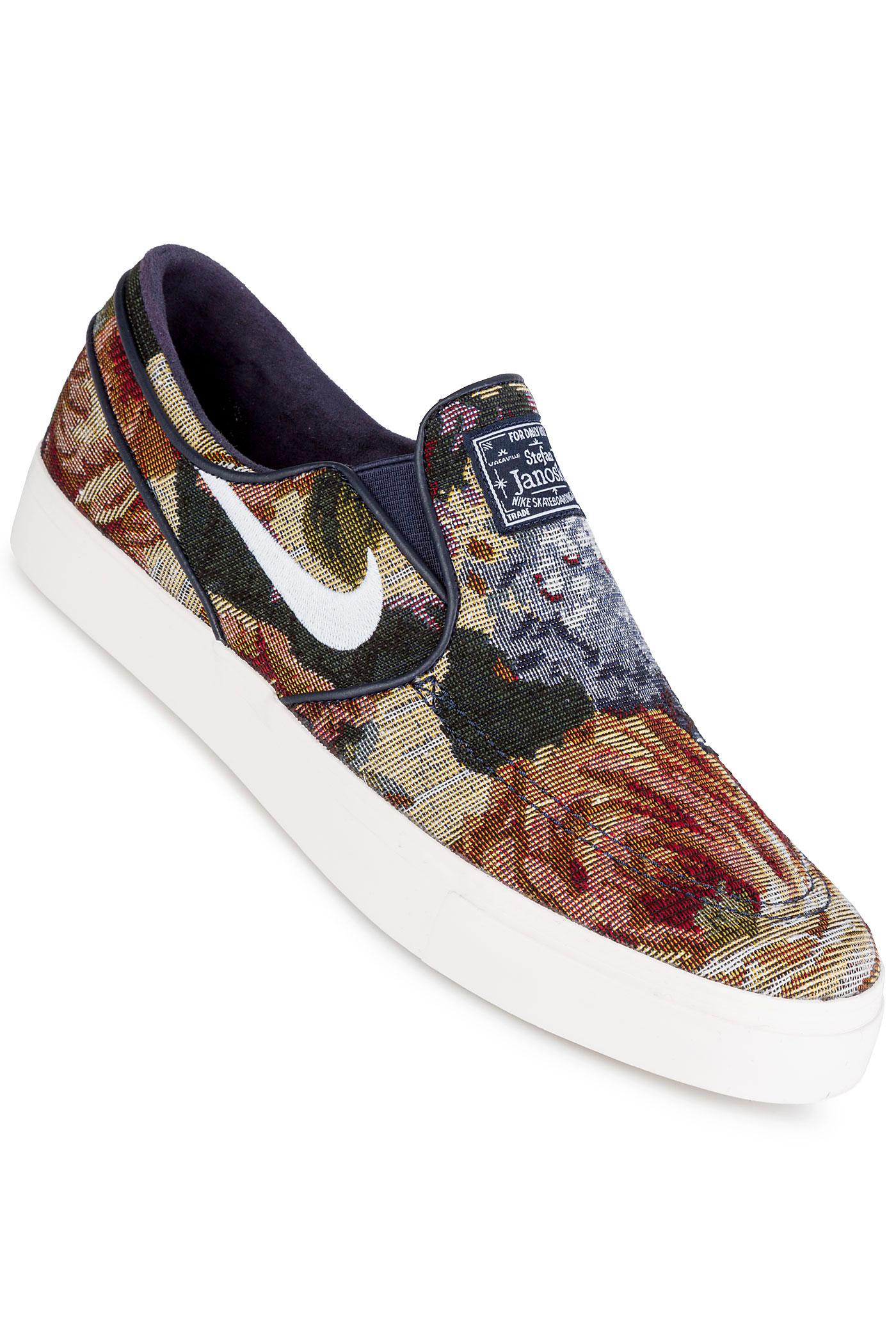 nike sb stefan janoski slip canvas premium shoes tapestry