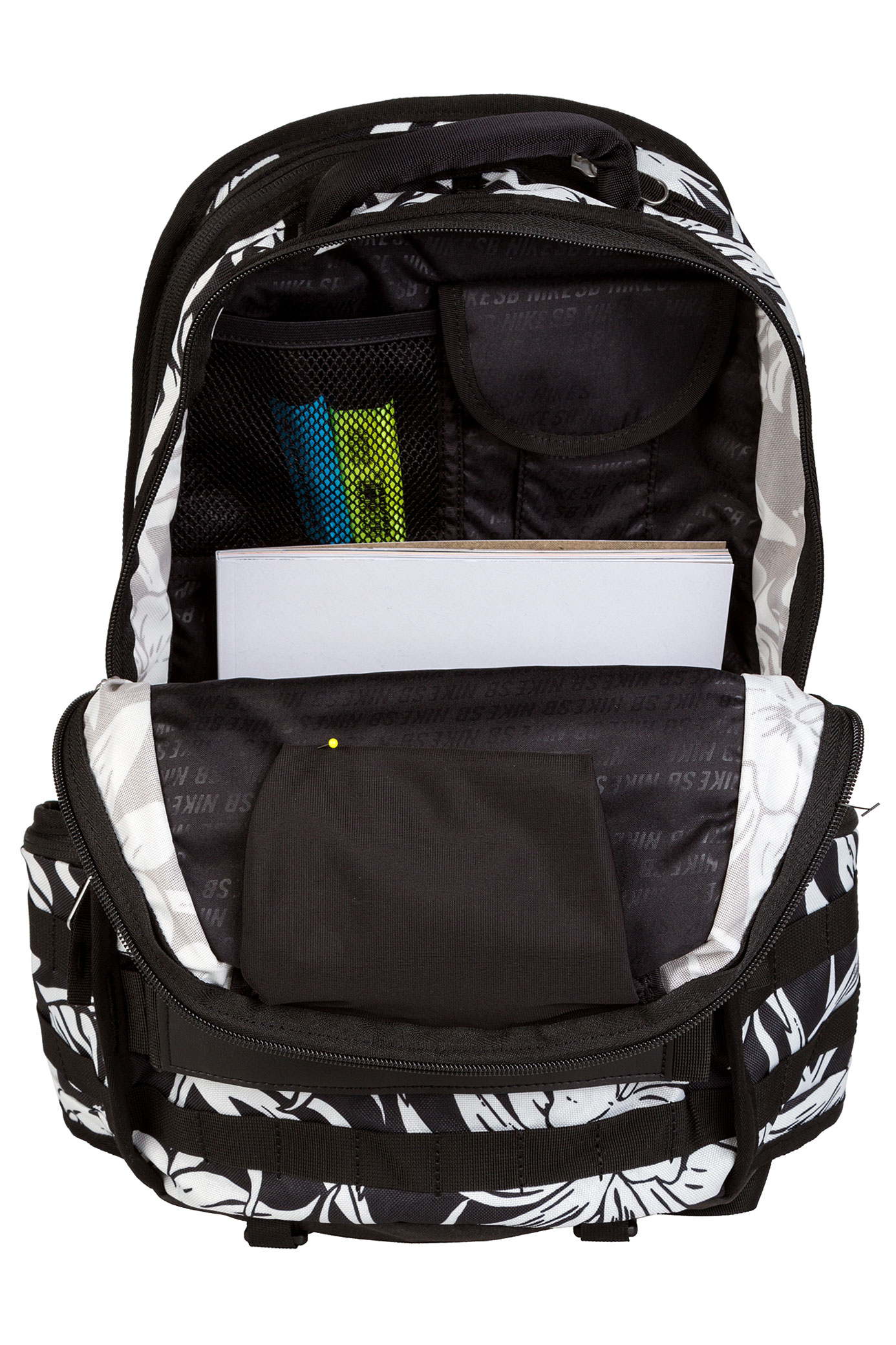 nike sb rpm graphic backpack black black black buy at. Black Bedroom Furniture Sets. Home Design Ideas