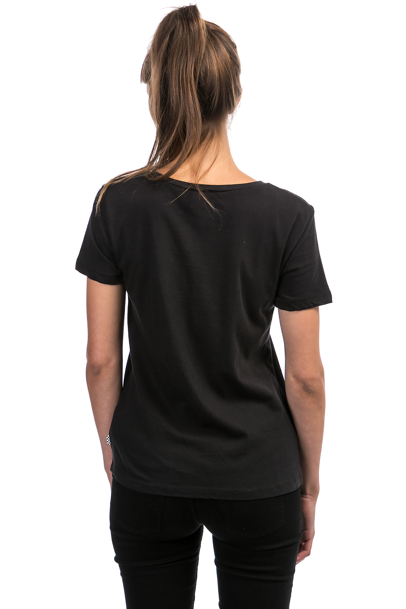 Vans Flying V T-Shirt women (black) koop bij skatedeluxe Vans T Shirt For Girls