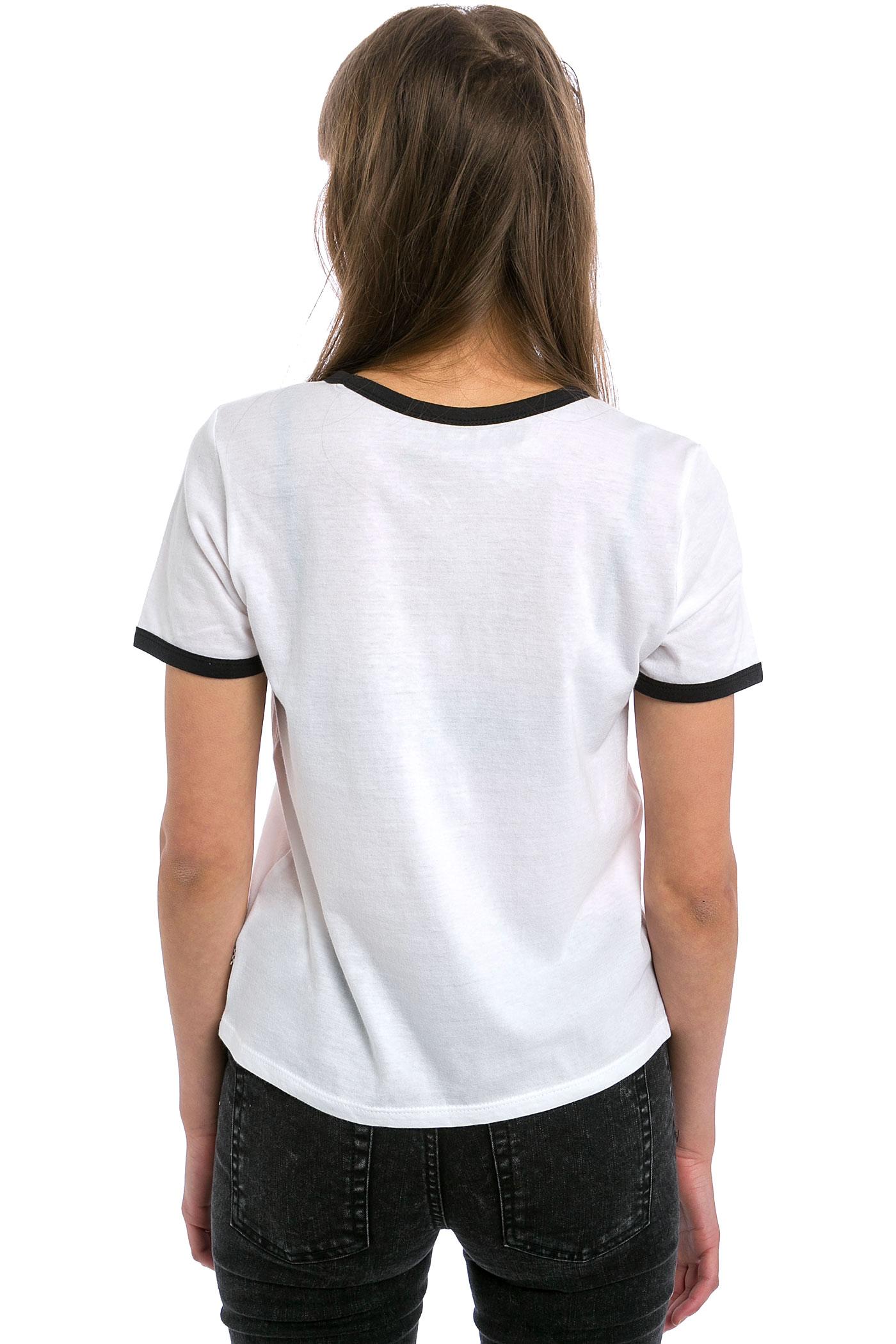 Vans V Tangler T-Shirt women (white black) buy at skatedeluxe Vans T Shirt For Girls