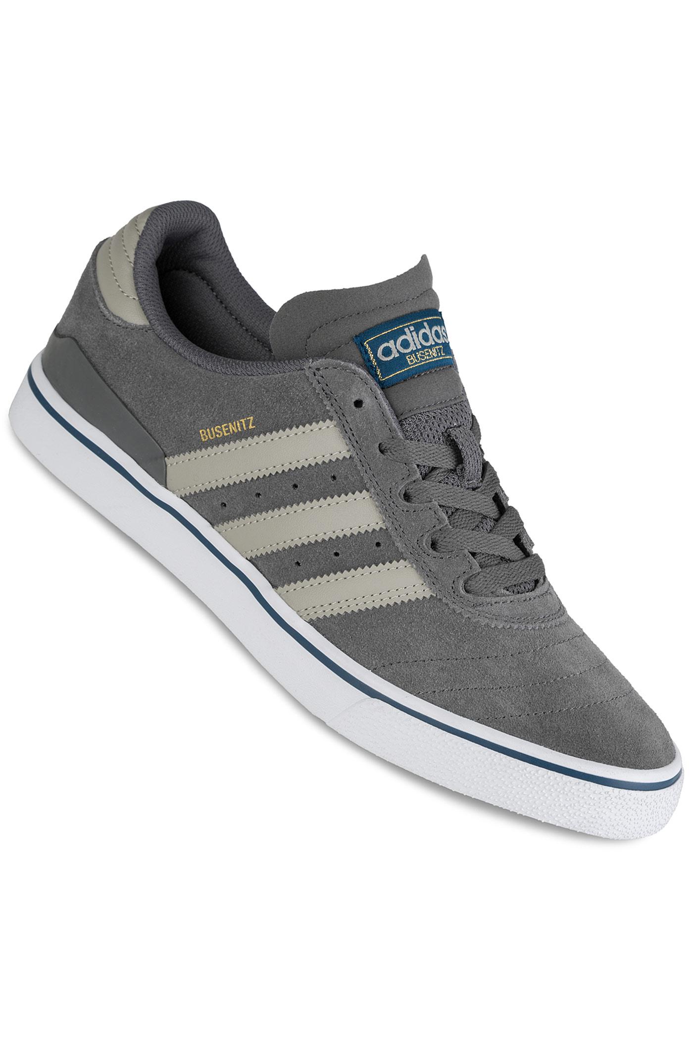 ... adidas Skateboarding Busenitz Vulc ADV Schoen (brown white burgundy) ...