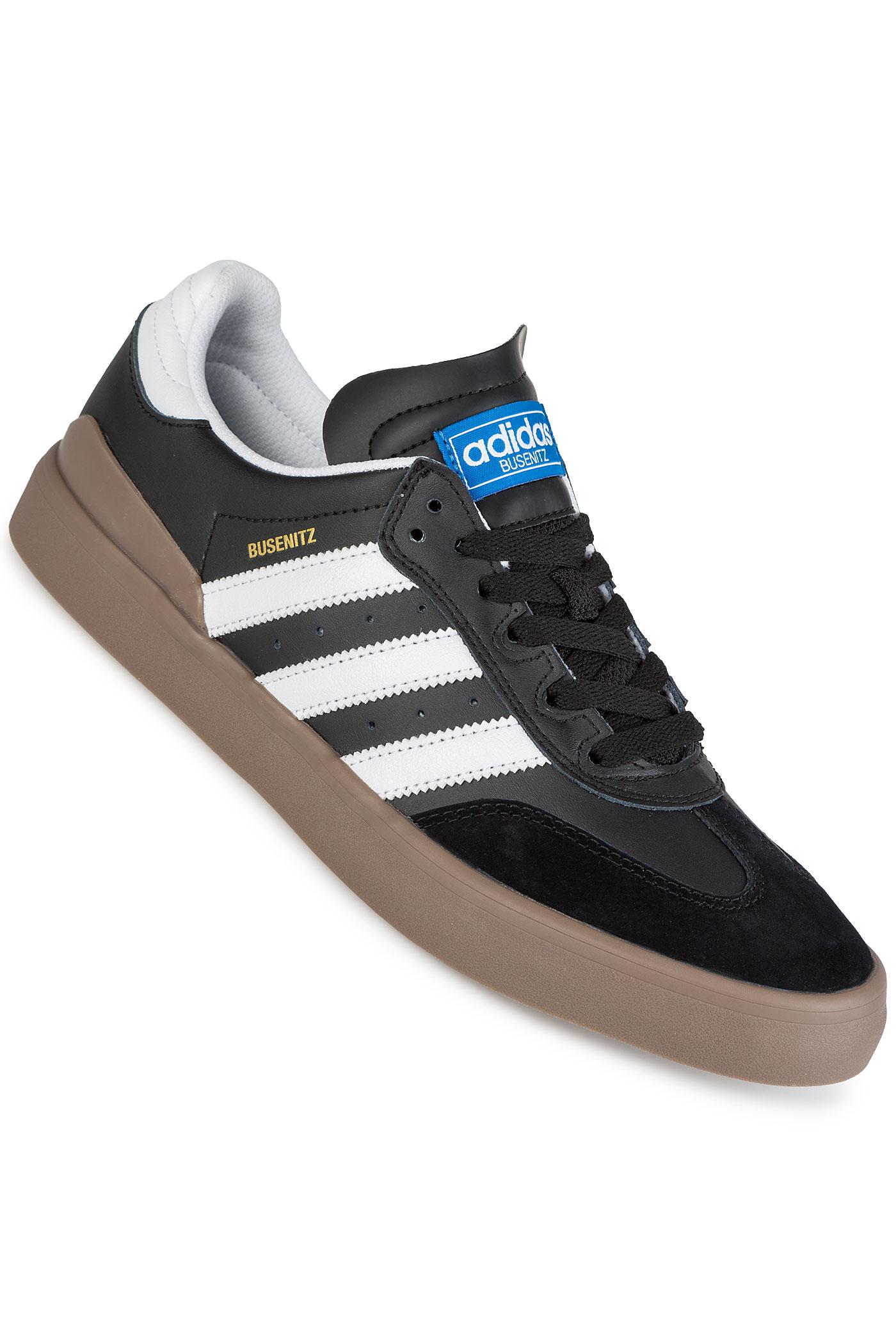 adidas skateboarding busenitz vulc rx shoes black