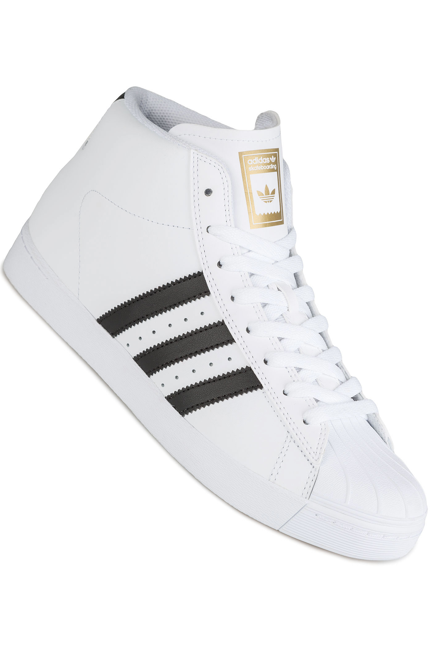 low priced a0dfb 507c3 adidas Skateboarding Pro Model Vulc ADV Chaussure (white black gold)