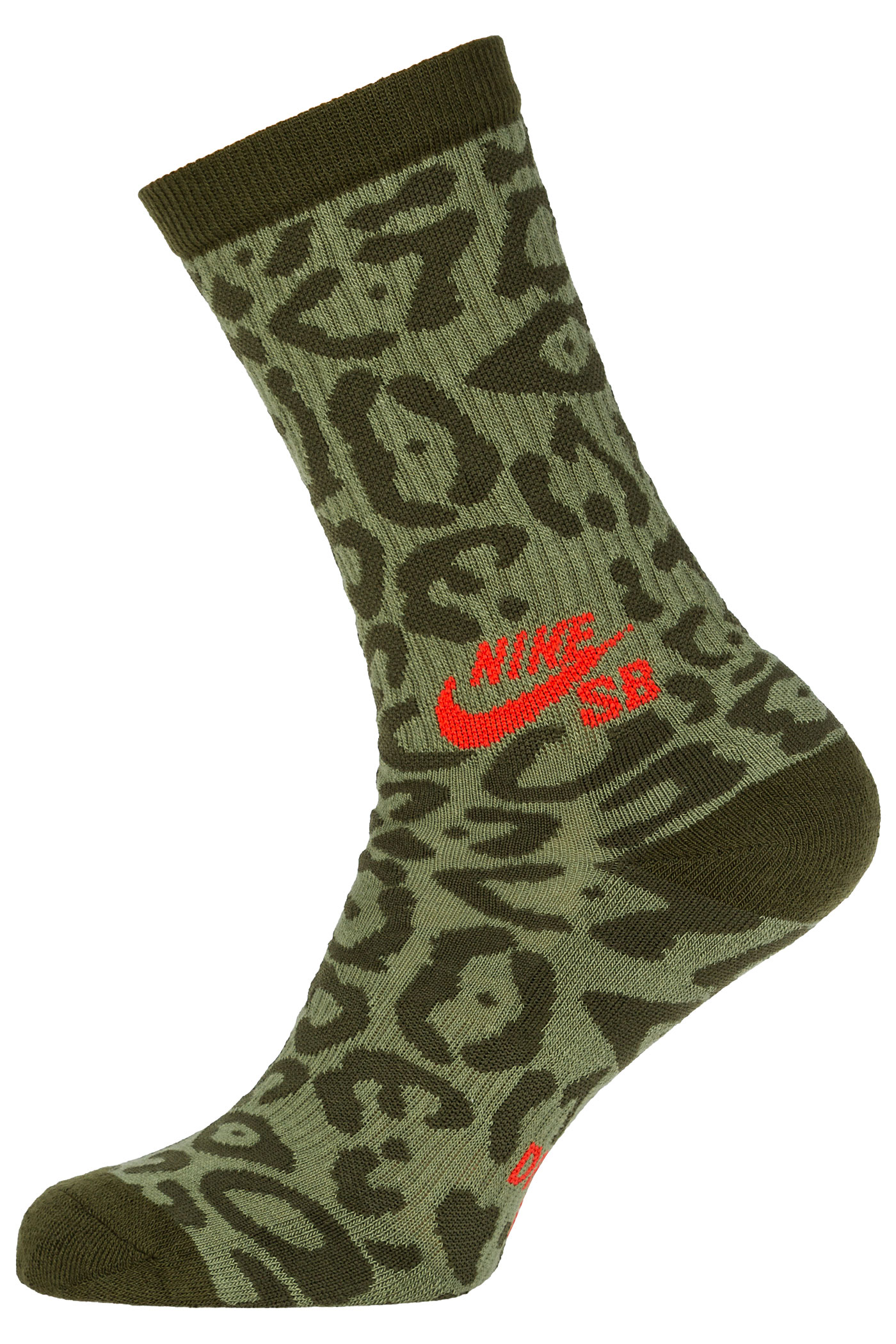 nike sb jaquar graphic socks palm green legion green buy. Black Bedroom Furniture Sets. Home Design Ideas