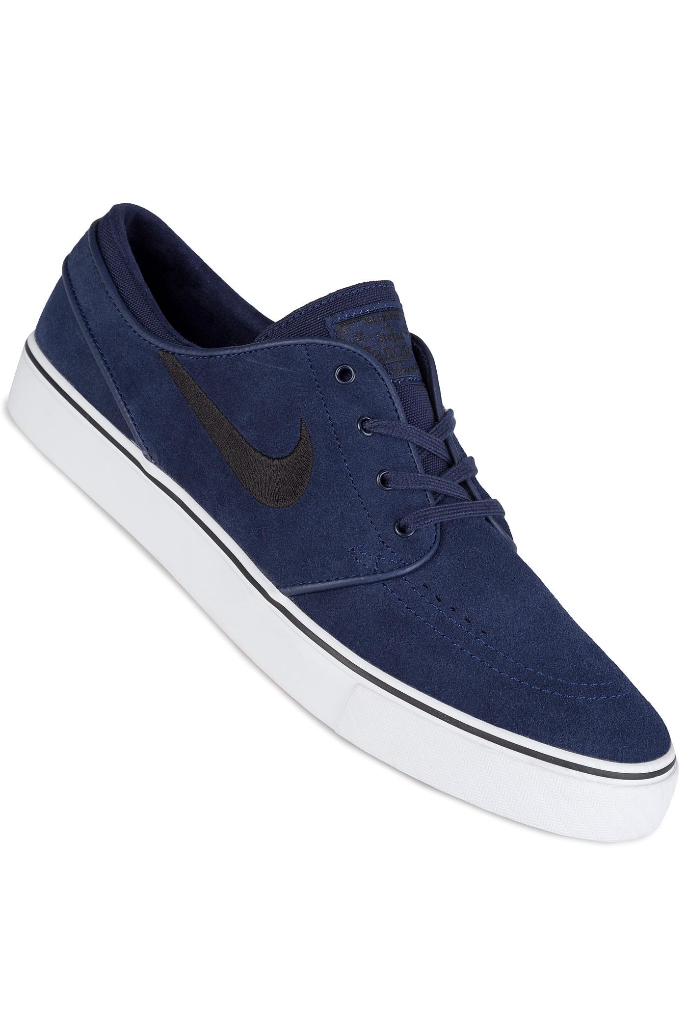 nike sb zoom stefan janoski chaussure binary blue black achetez sur skatedeluxe. Black Bedroom Furniture Sets. Home Design Ideas