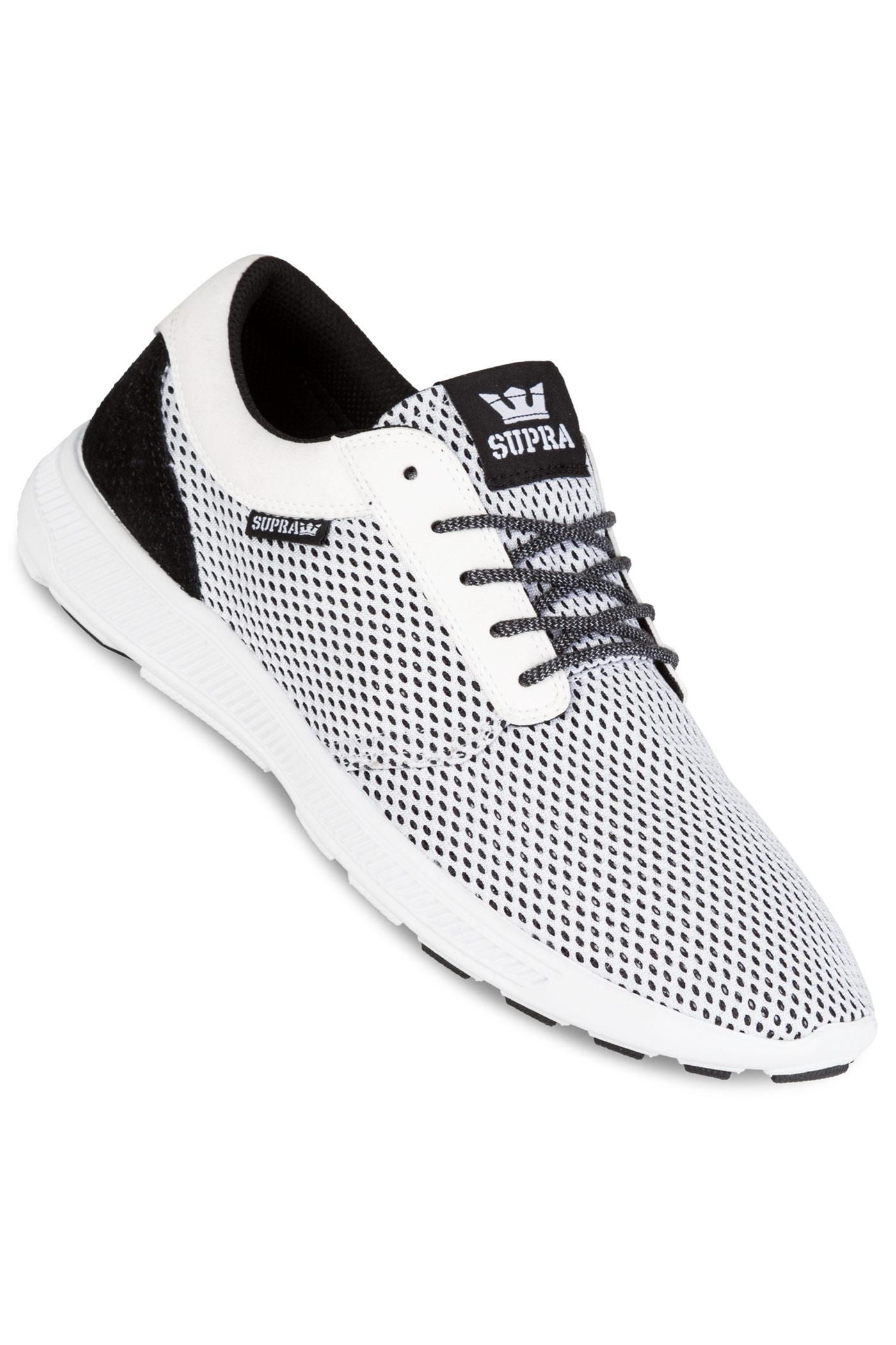 supra hammer run shoes white black buy at skatedeluxe. Black Bedroom Furniture Sets. Home Design Ideas