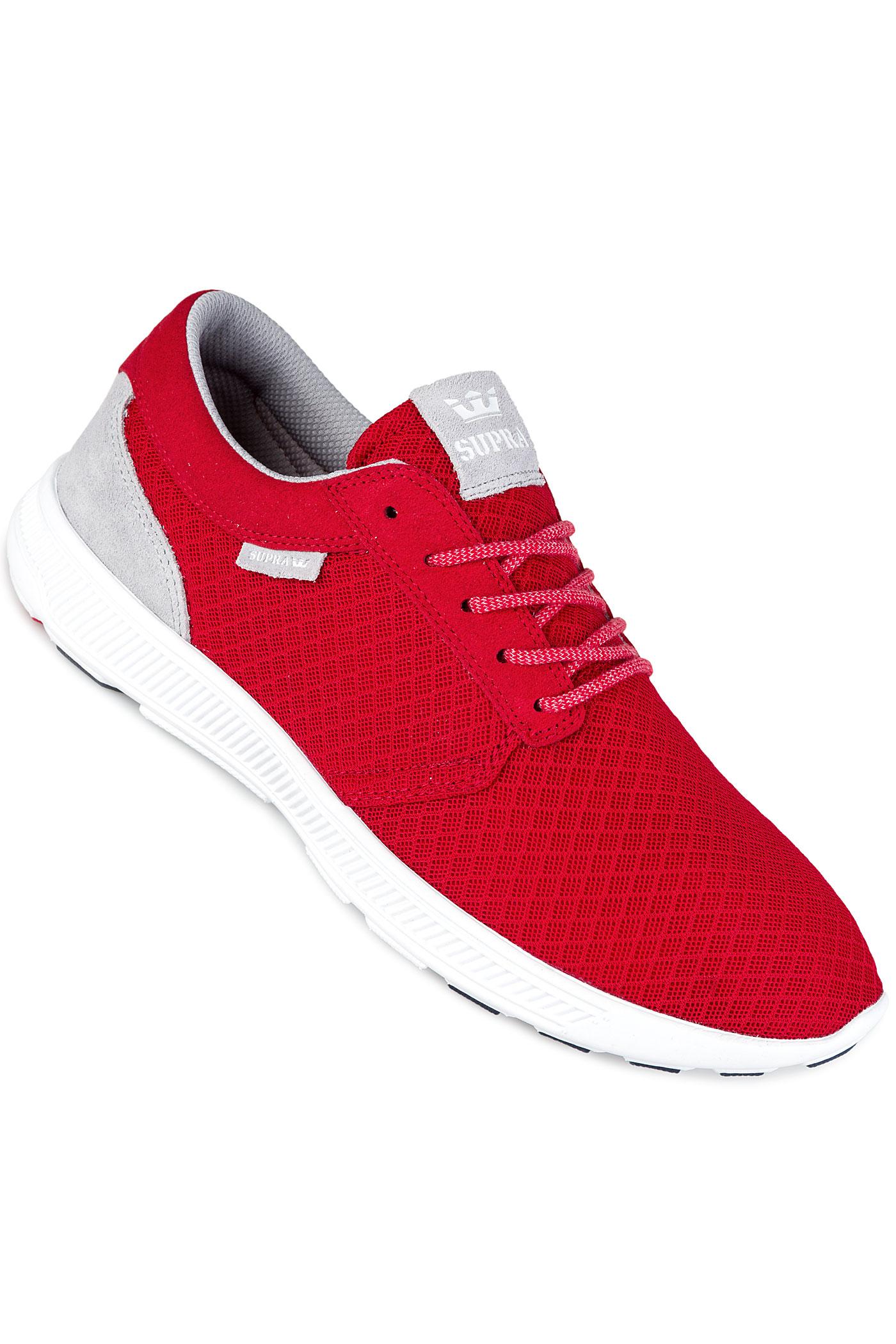 supra hammer run shoes red white buy at skatedeluxe. Black Bedroom Furniture Sets. Home Design Ideas