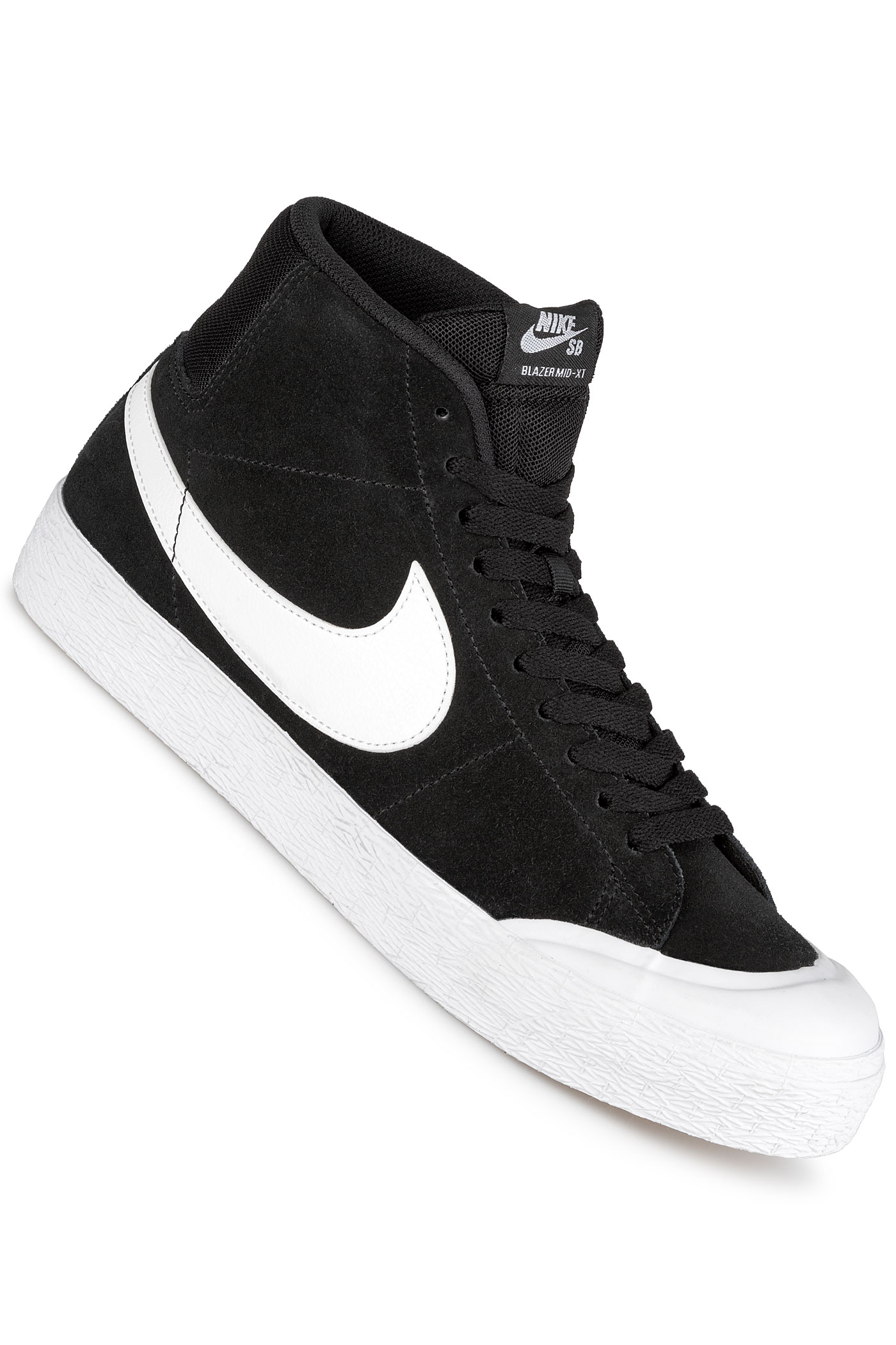 00676736f63f Nike SB Zoom Blazer Mid XT Shoes (black white gum light brown) buy ...