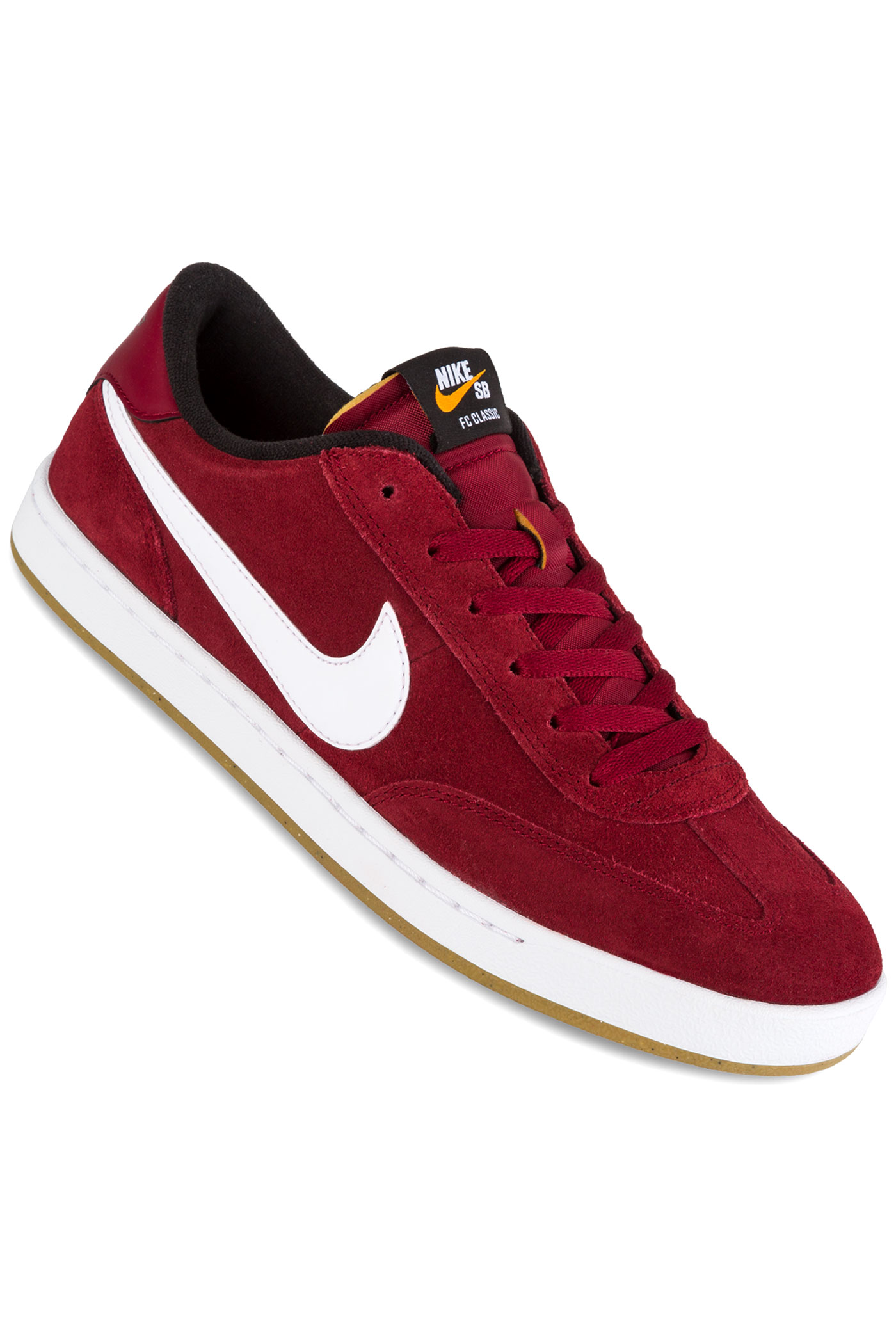 nike sb fc classic chaussure team red white achetez sur skatedeluxe. Black Bedroom Furniture Sets. Home Design Ideas