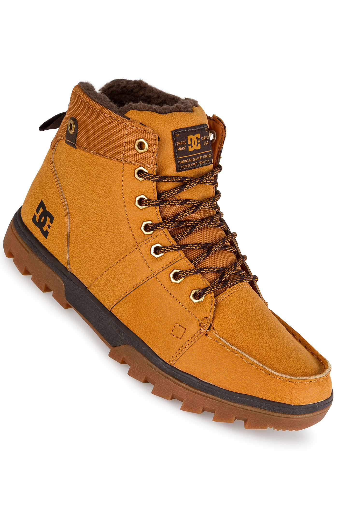DC Woodland Shoes (wheat) buy at skatedeluxe