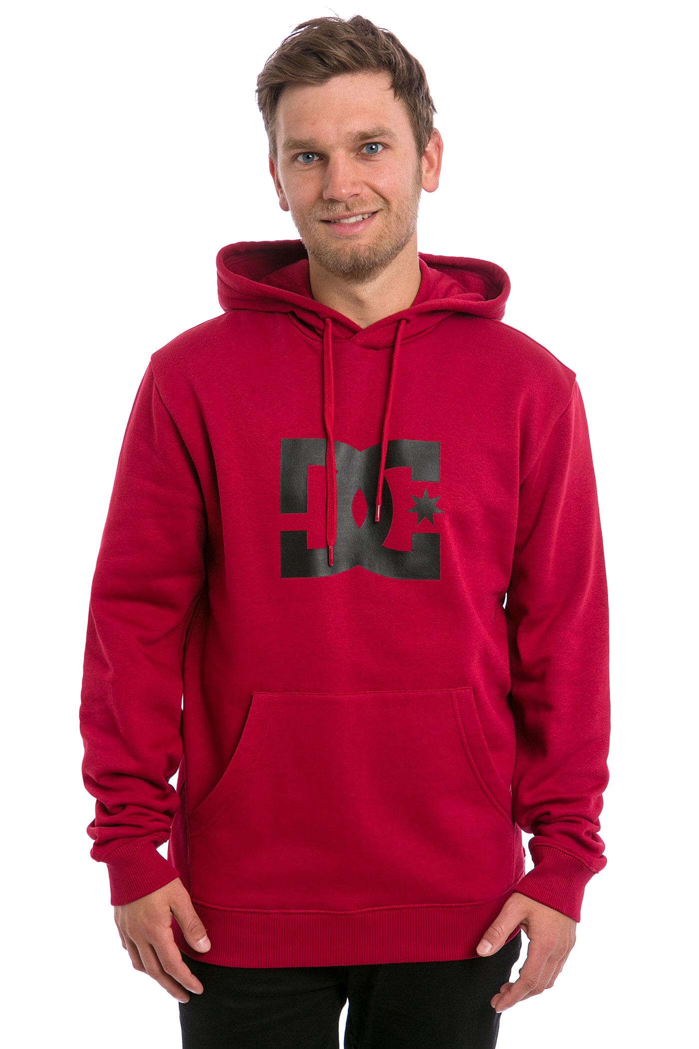 Red dc hoodie
