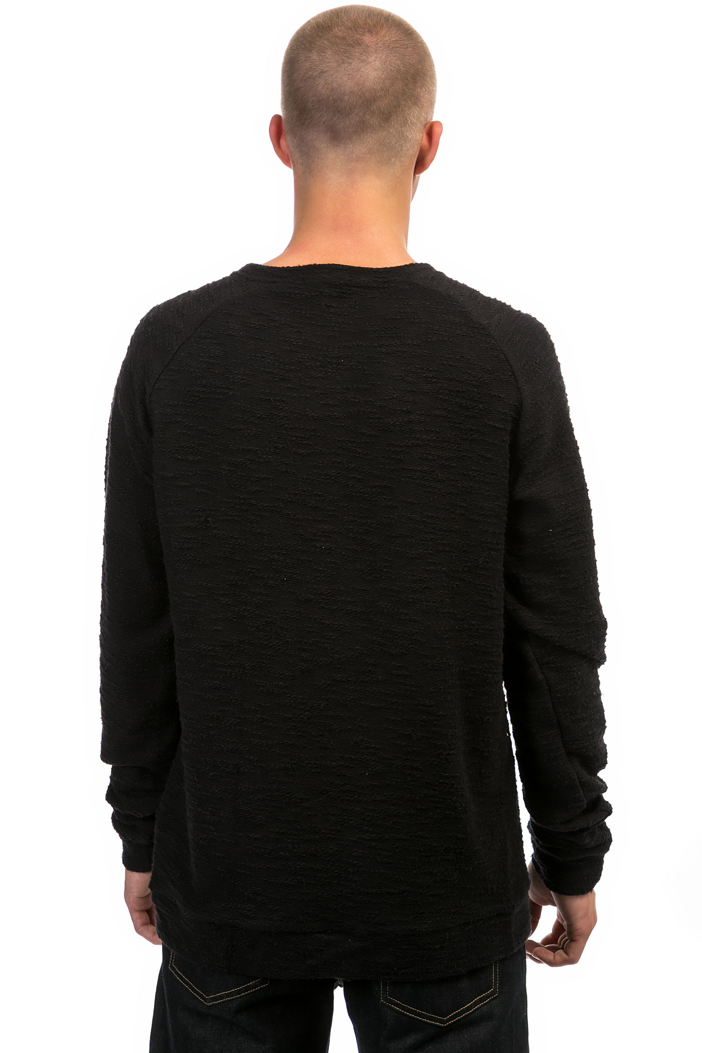 forvert casper sweatshirt black kaufen bei skatedeluxe. Black Bedroom Furniture Sets. Home Design Ideas