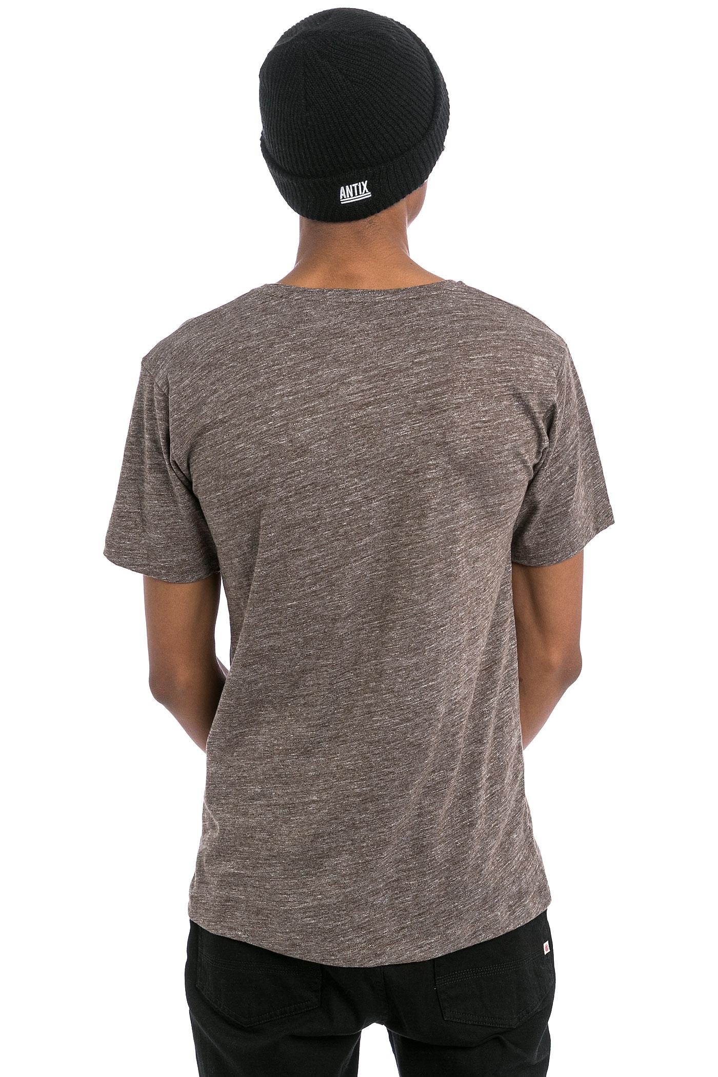 Cleptomanicx vintage print t shirt vintage brown achetez for Vintage t shirt printing