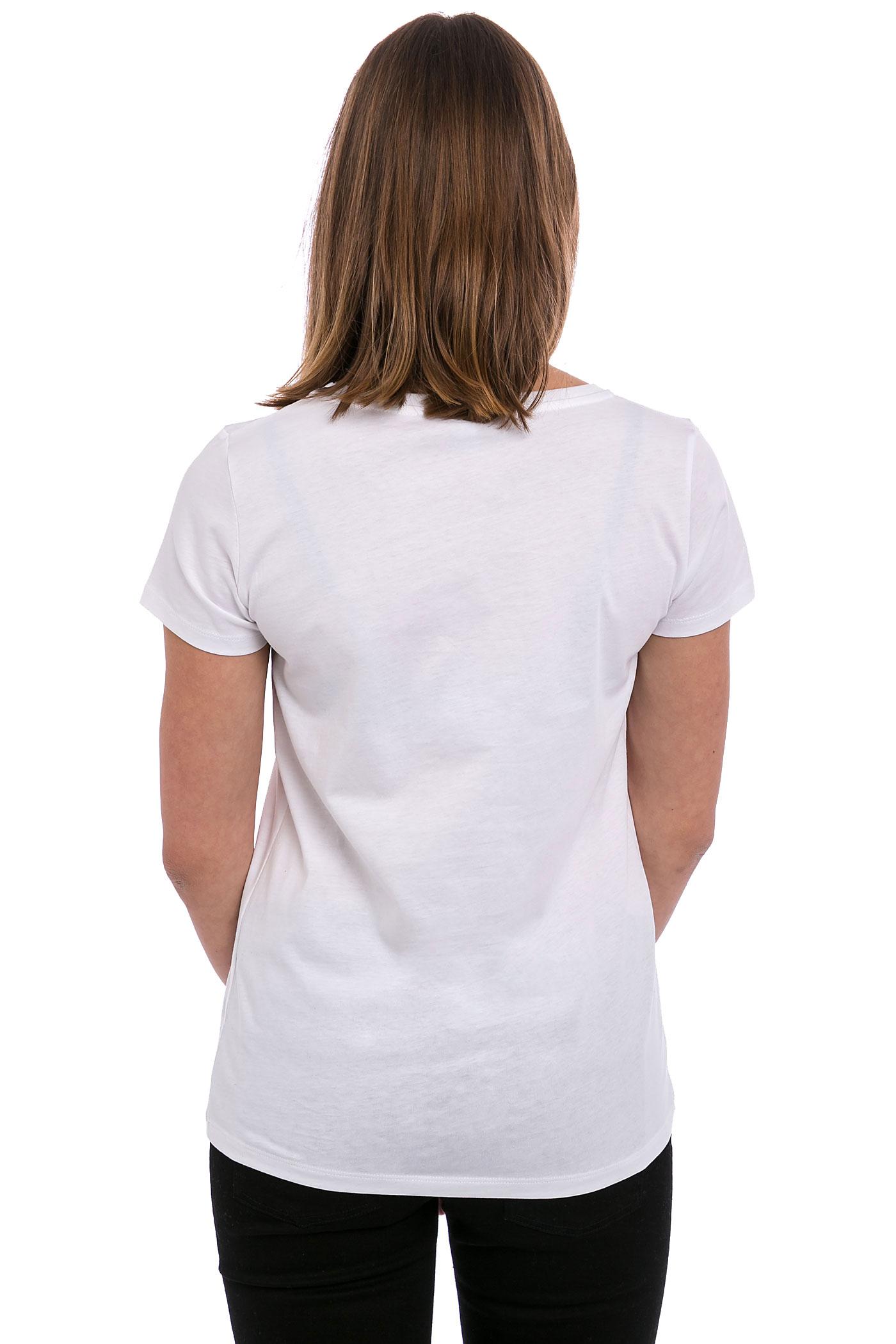 iriedaily easypeacy t shirt women white kaufen bei. Black Bedroom Furniture Sets. Home Design Ideas