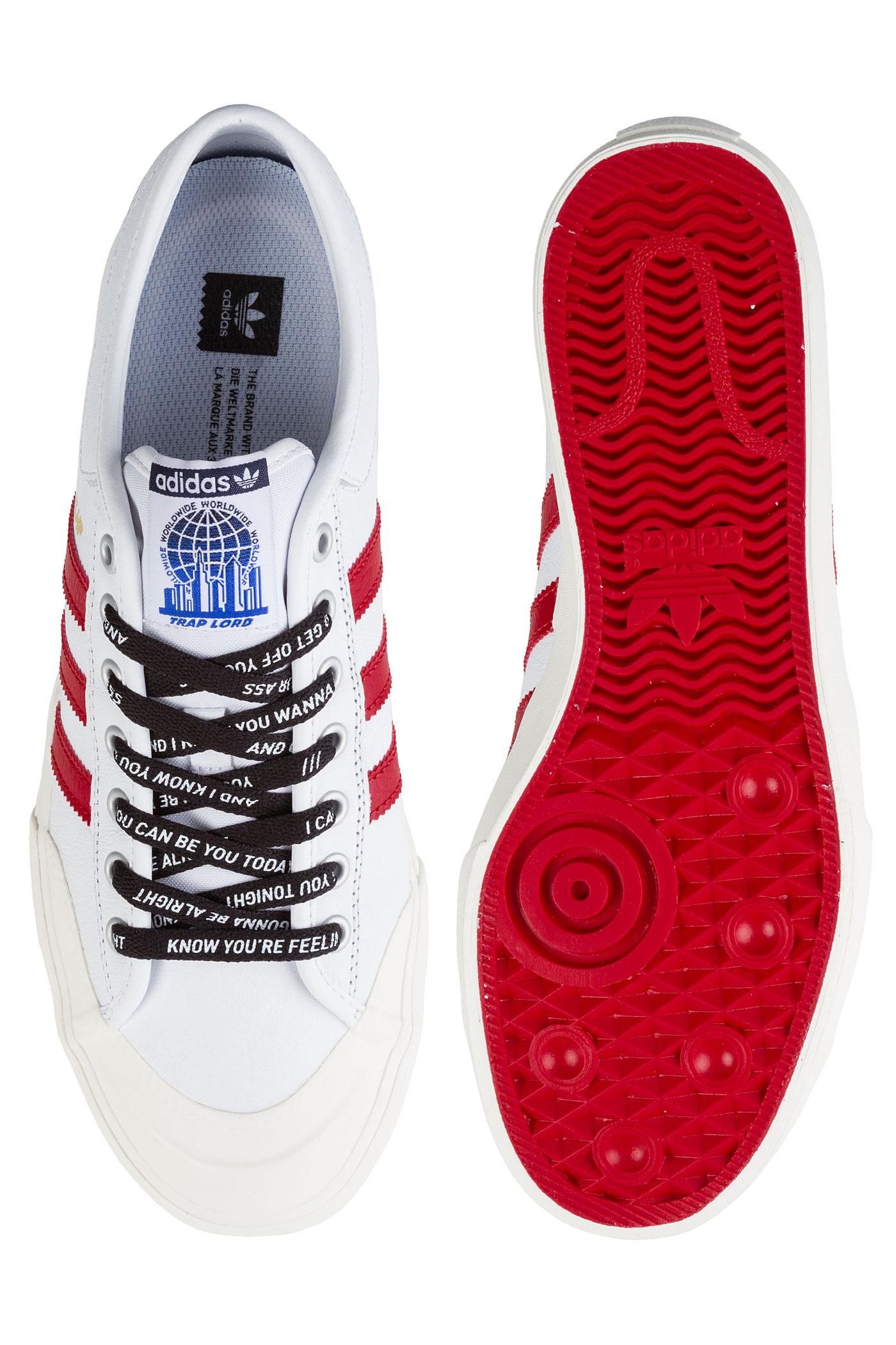 reputable site b0e83 e4be9 ... adidas Skateboarding x AAP Ferg Matchcourt Chaussure (white scarlet)  ...