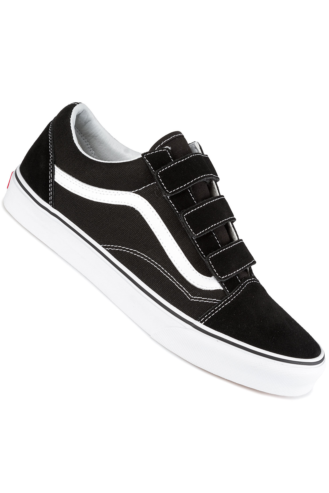 vans old skool v schuh black true white kaufen bei skatedeluxe. Black Bedroom Furniture Sets. Home Design Ideas