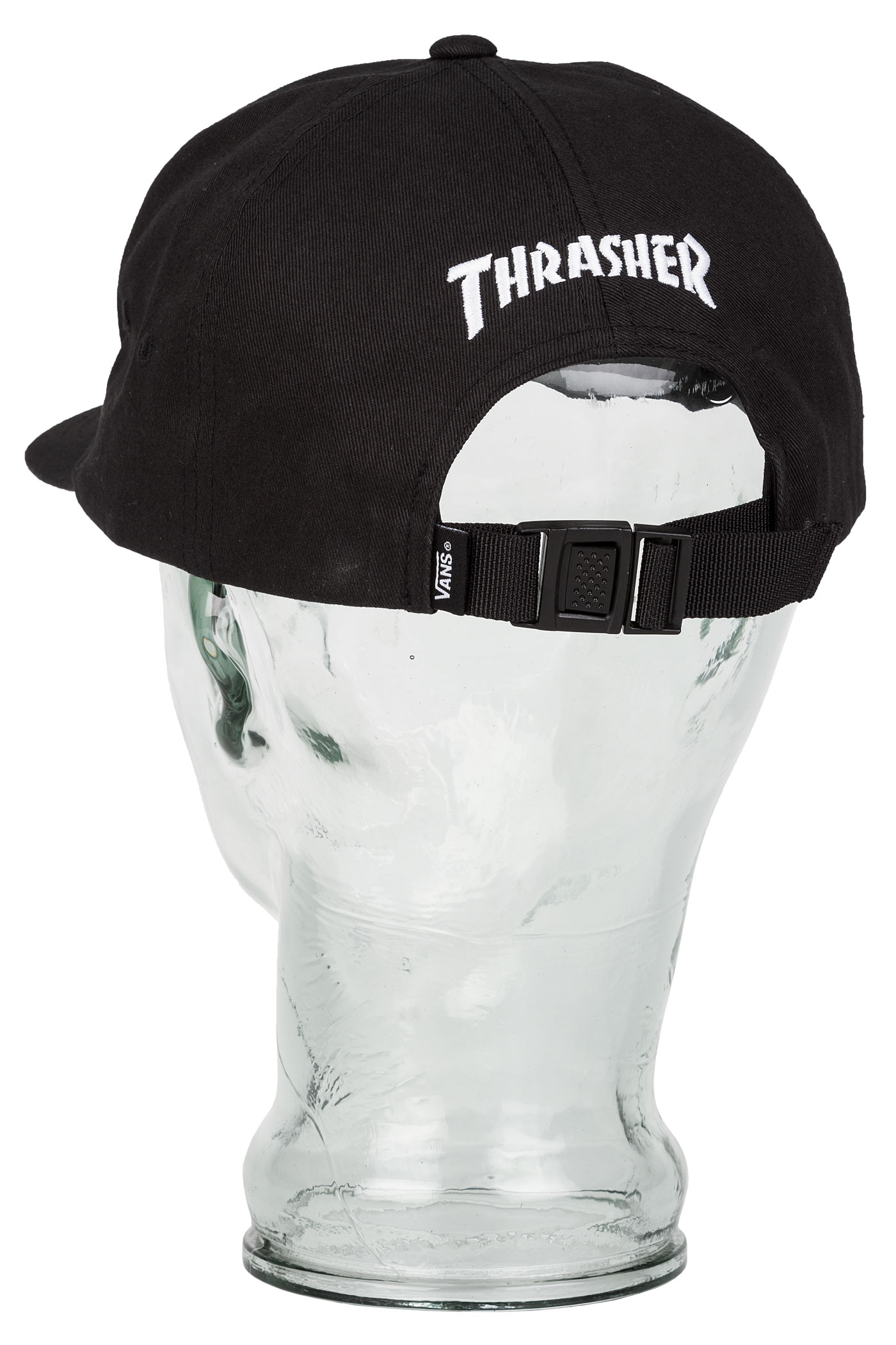 Vans x Thrasher Jockey Cap (black) buy at skatedeluxe fa6291f4c5c