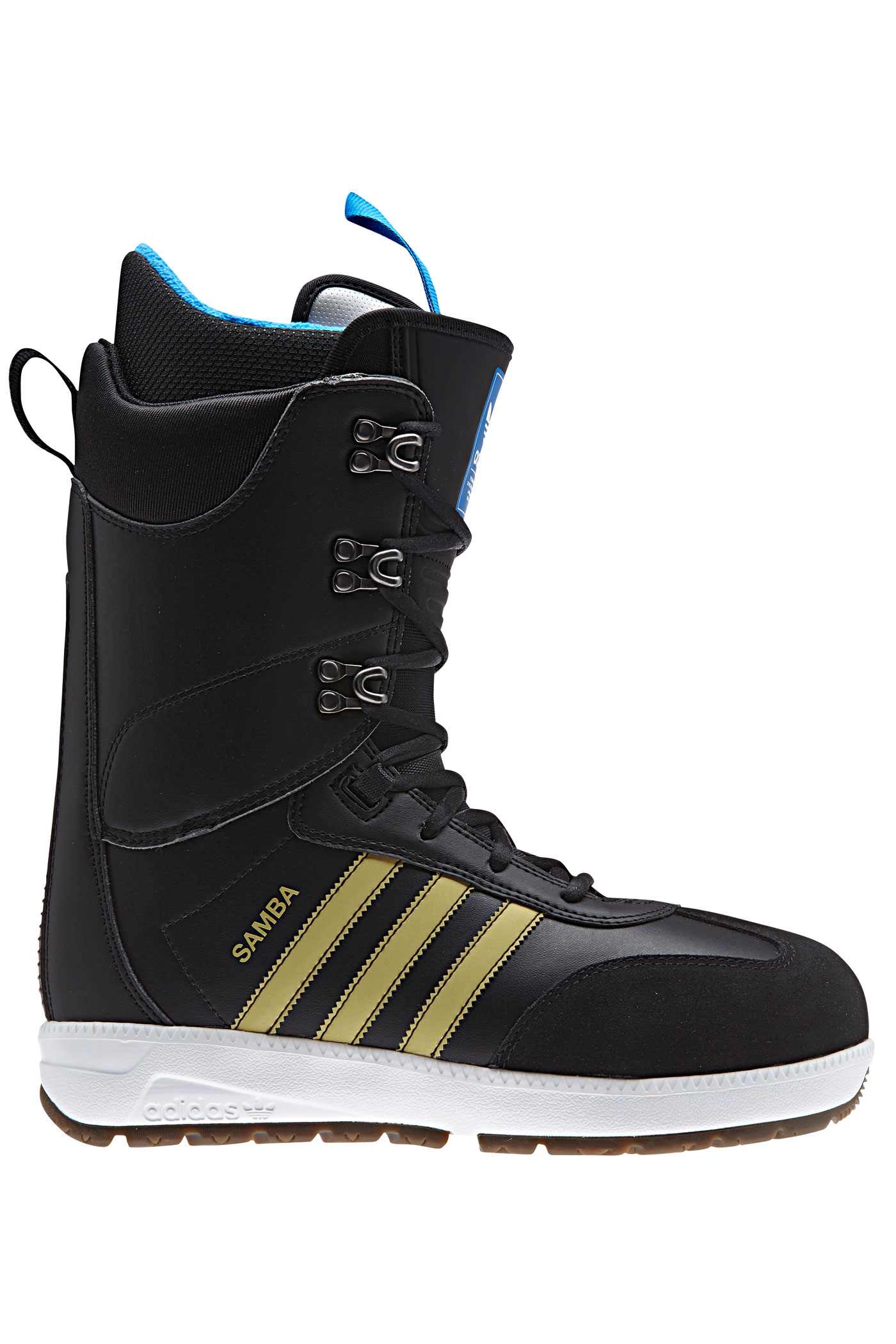 adidas samba adv boots 2017 18 core black buy at skatedeluxe. Black Bedroom Furniture Sets. Home Design Ideas