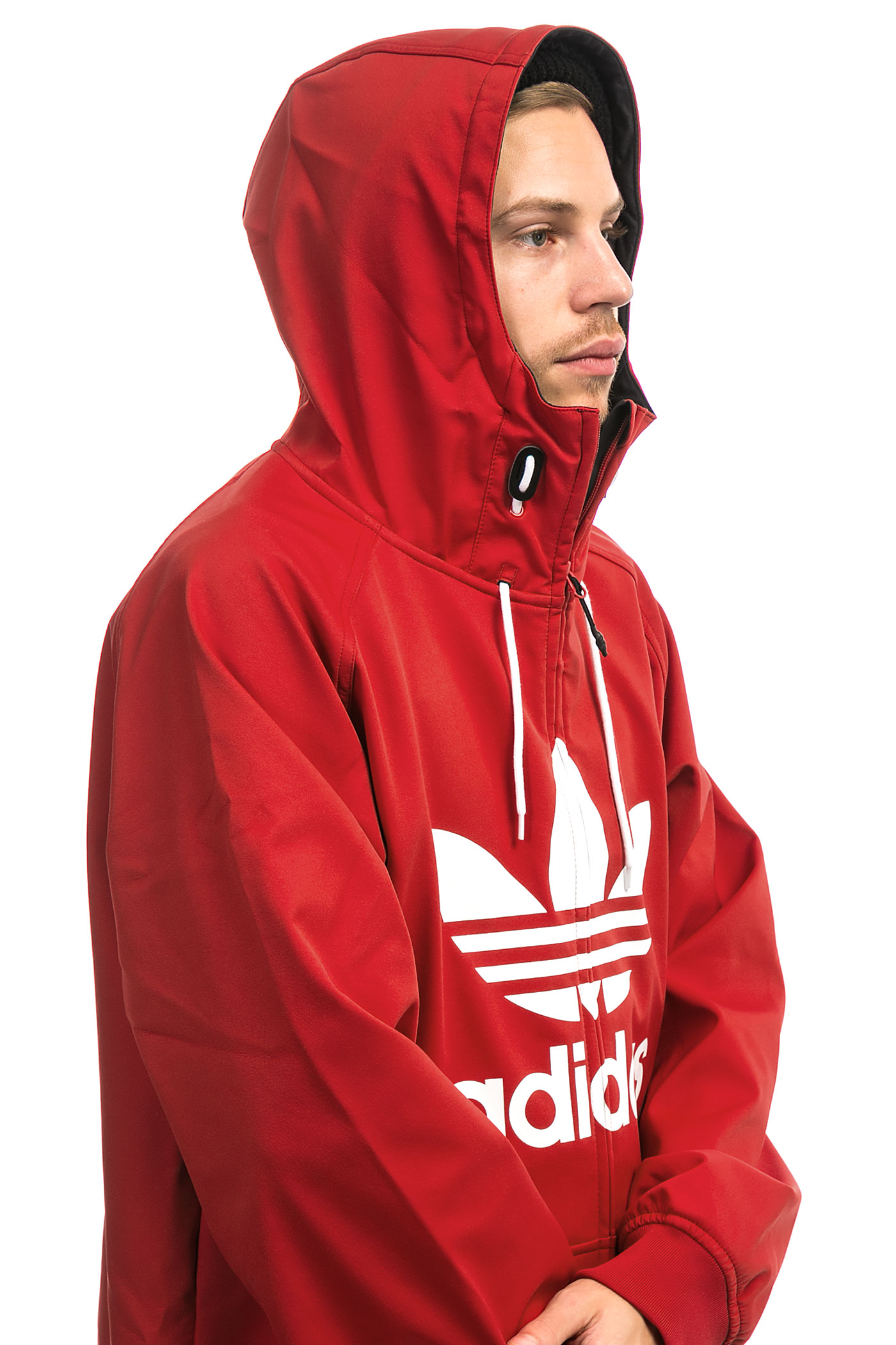 adidas Greeley Softshell Snowboard Jacket (scarlet red) buy at ... 929d4b4e68