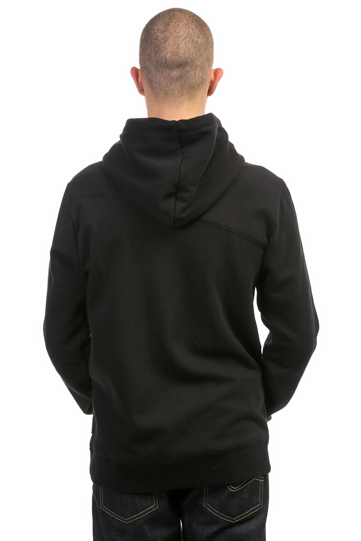 Stn Sngl Zip Volcom Avec sweatshirt Capuchonblack 80OnXwPk