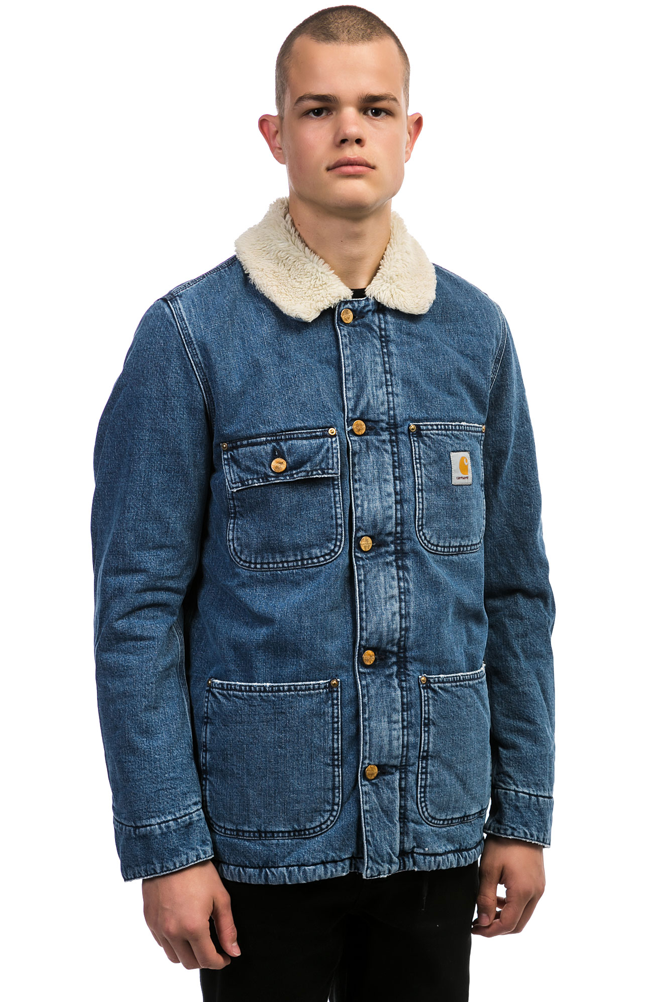 Carhartt WIP Fairmount Jacket (blue stone washed) buy at