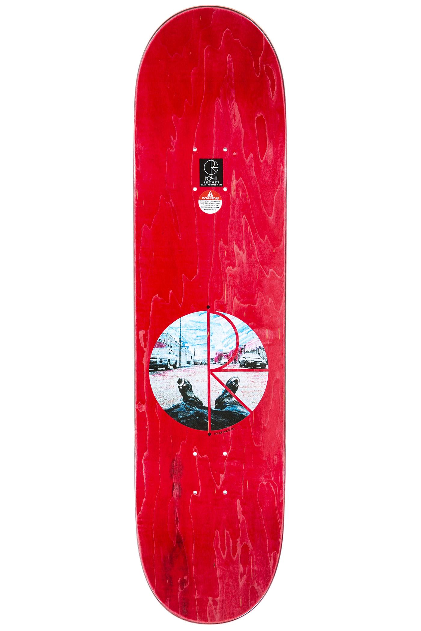 Polar Skateboards Zawisza Happy Sad Around The World 8.25