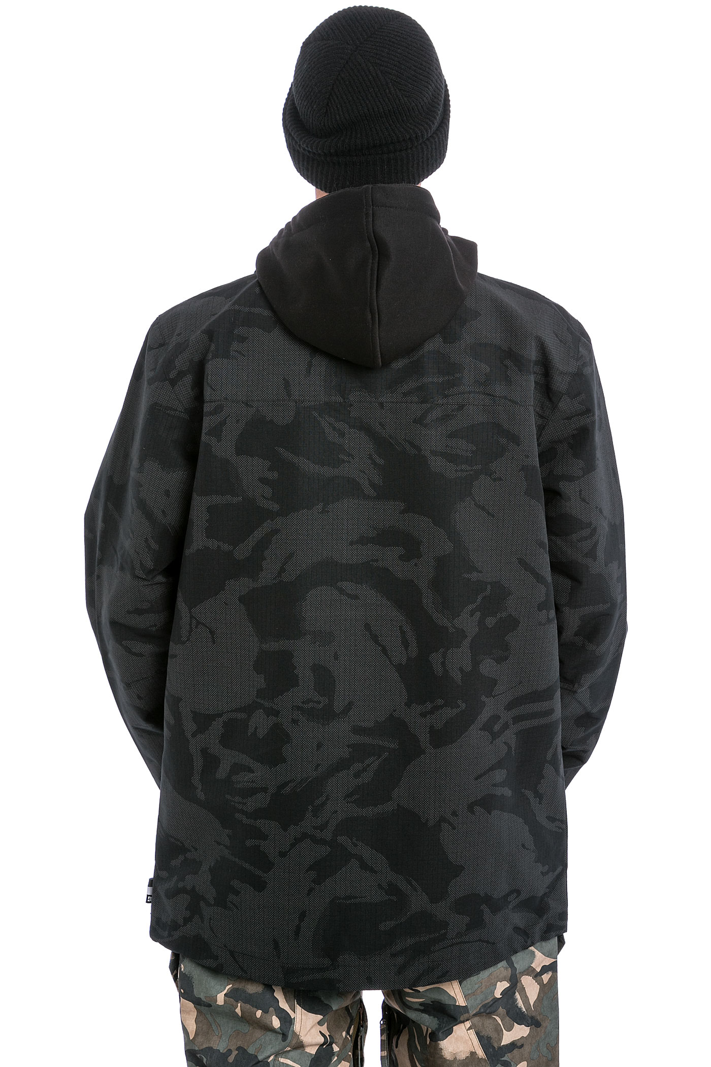 Dc camo snowboard jacket