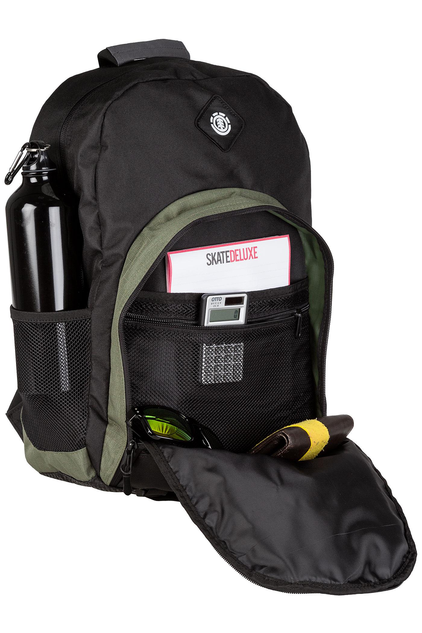 88af070ddcc6 Element Hilltop Backpack 25L (original black) buy at skatedeluxe