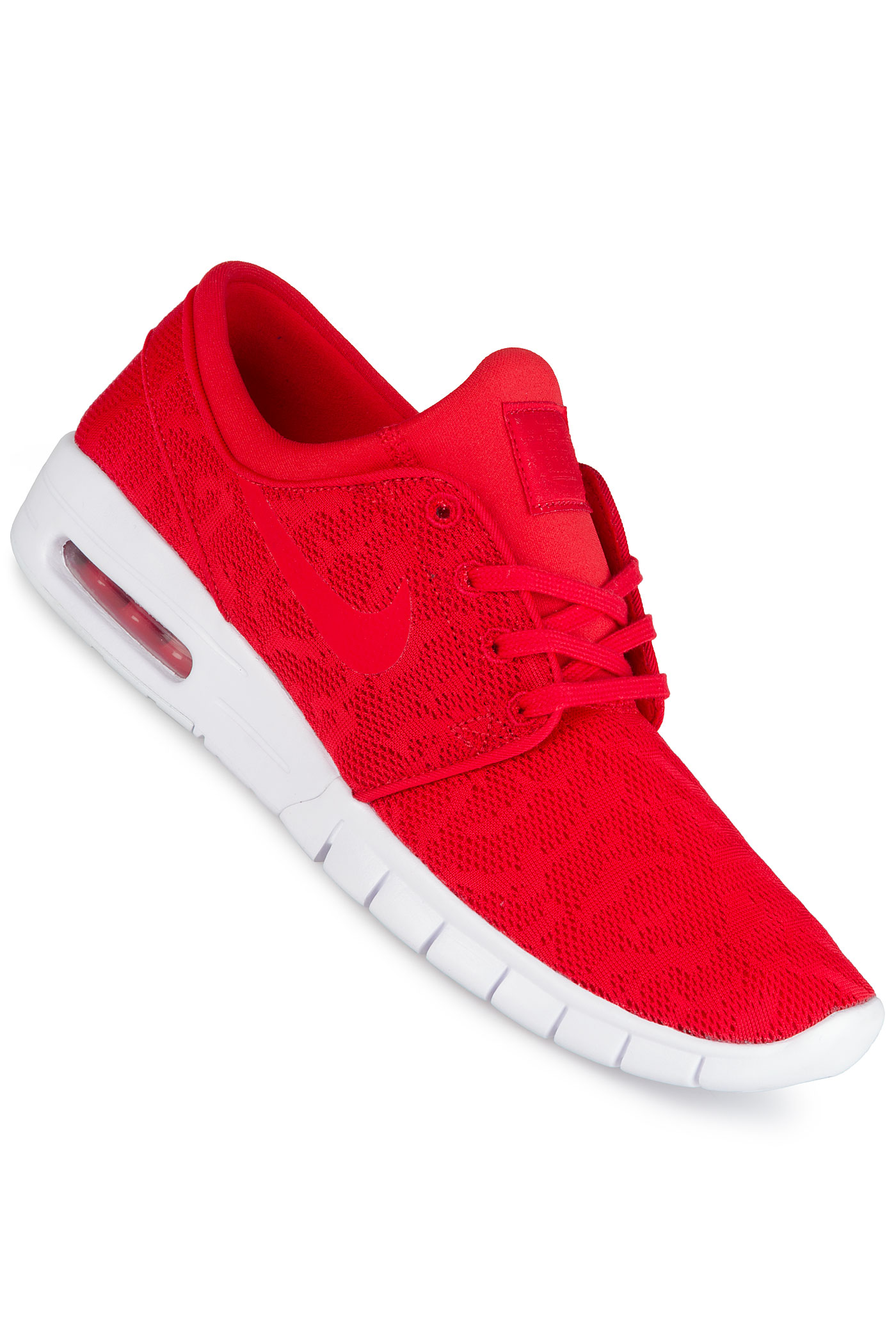 nike sb stefan janoski max chaussure university red white achetez sur skatedeluxe. Black Bedroom Furniture Sets. Home Design Ideas