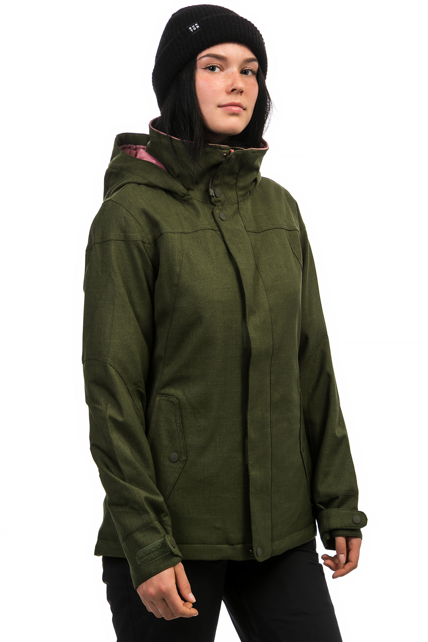 Burton Jet Set Snowboard Jacket women (rifle green) buy at skatedeluxe a6f44a1c83