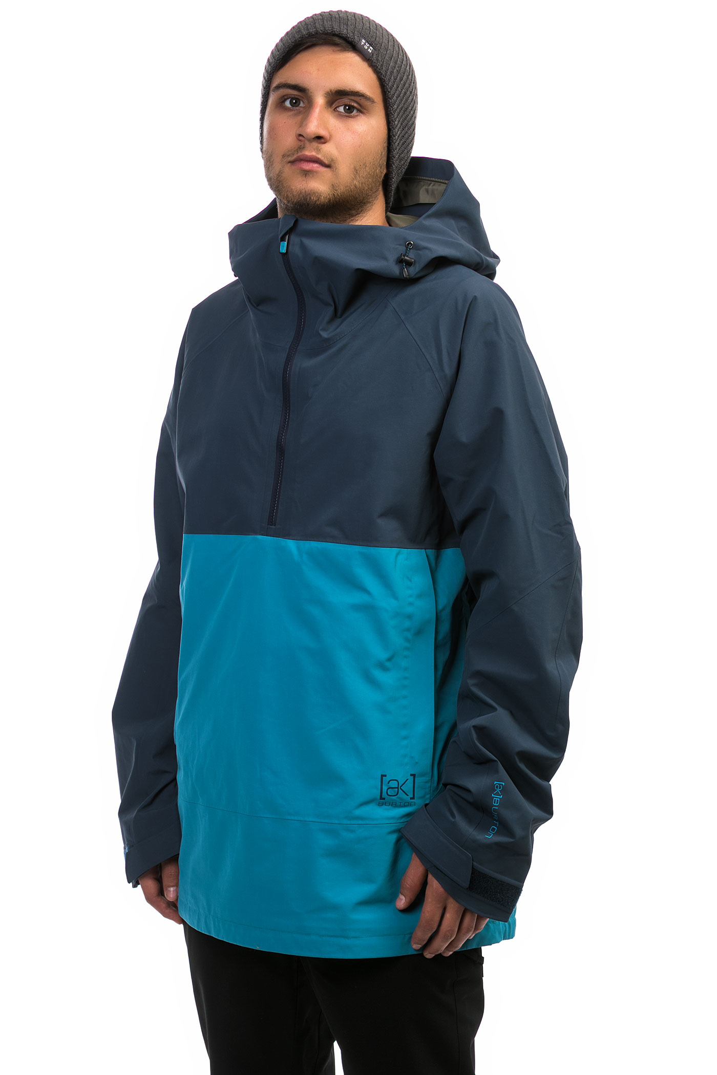 burton ak gore tex velocity anorak snowboard jacket mountaineer mood indigo buy at skatedeluxe. Black Bedroom Furniture Sets. Home Design Ideas